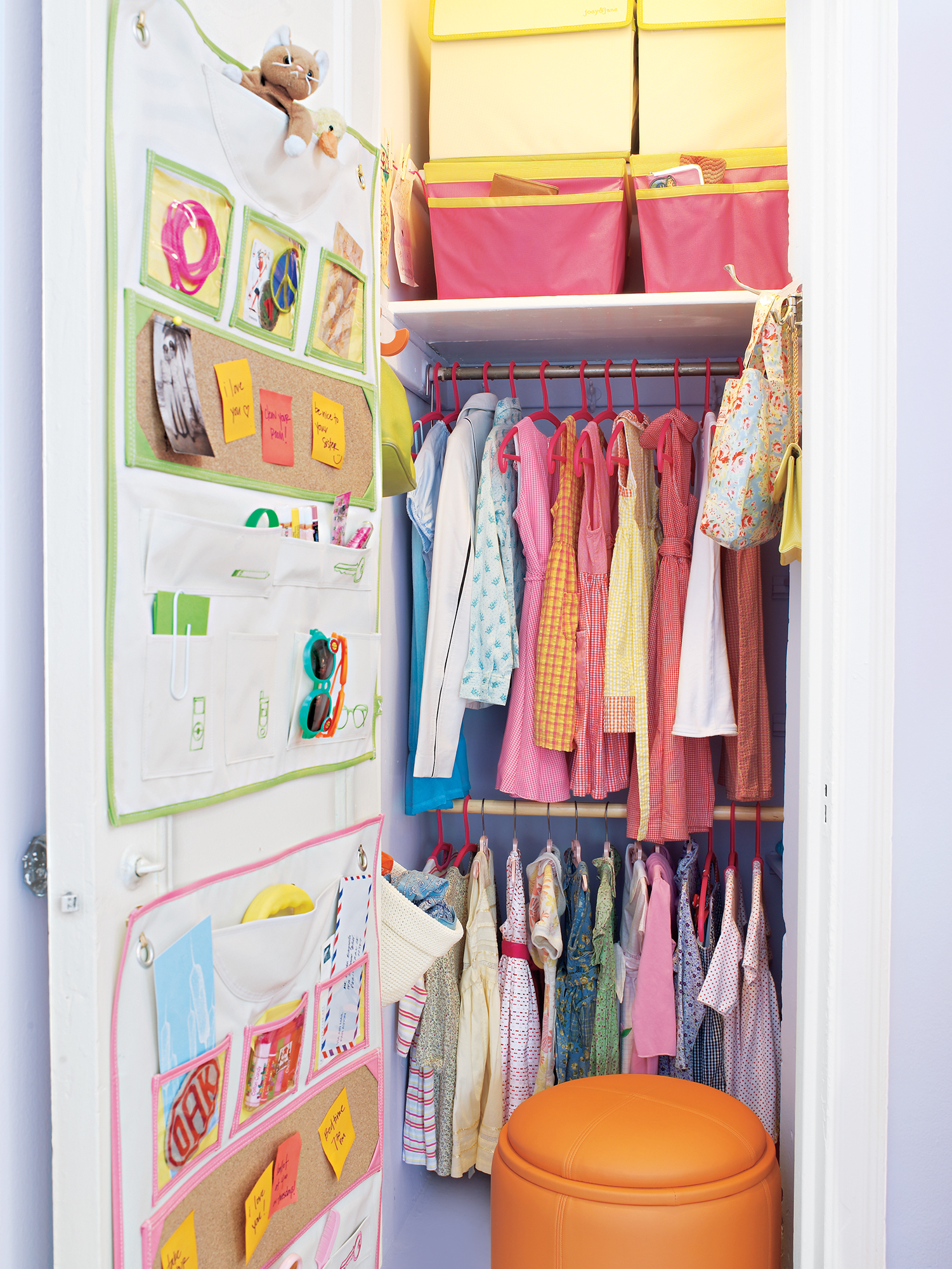 7 Smart Ways To Organize Your Kid S Closet Real Simple