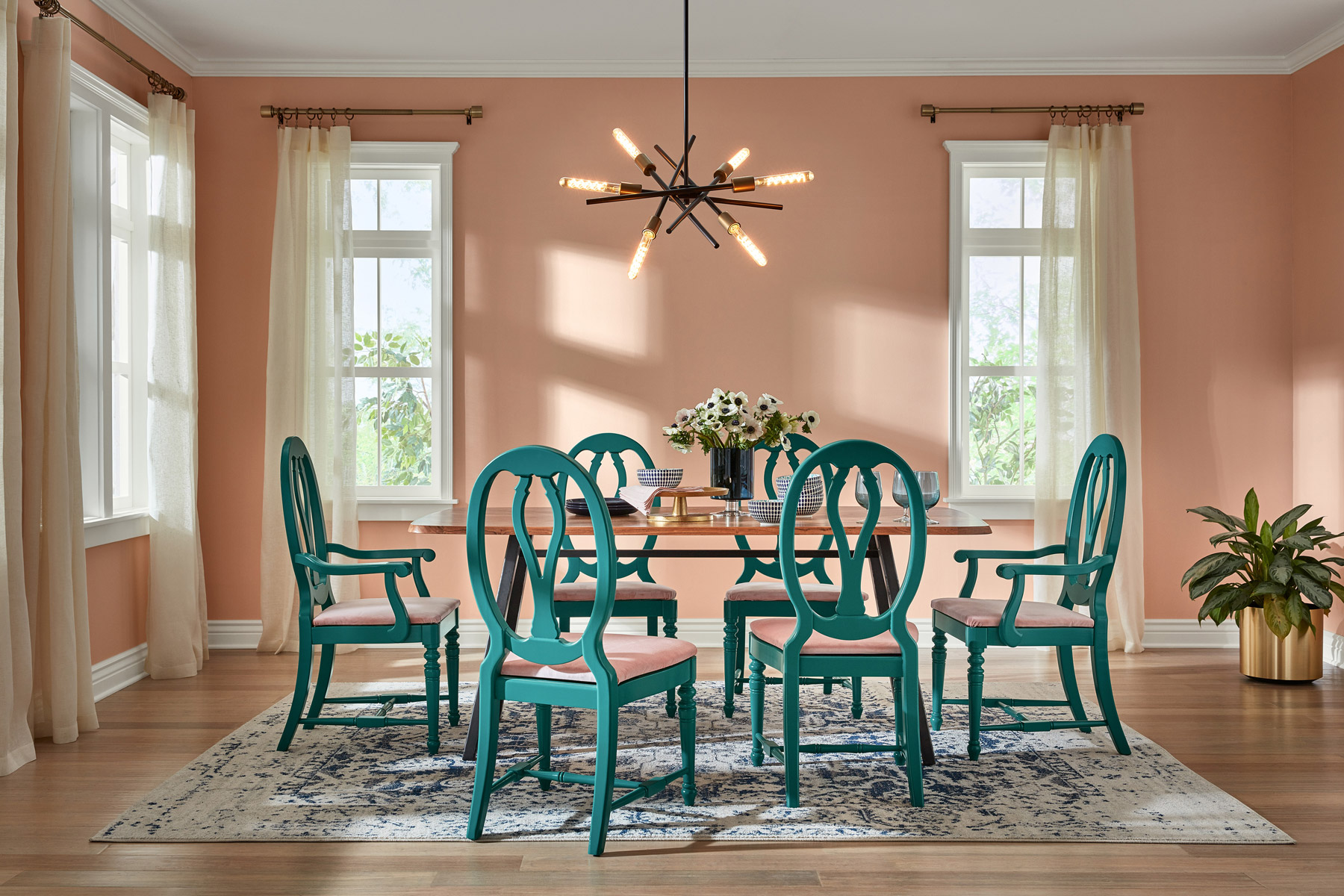 Interior Paint Colors 2020.All The Color Of The Year 2020 Predictions So Far Real Simple