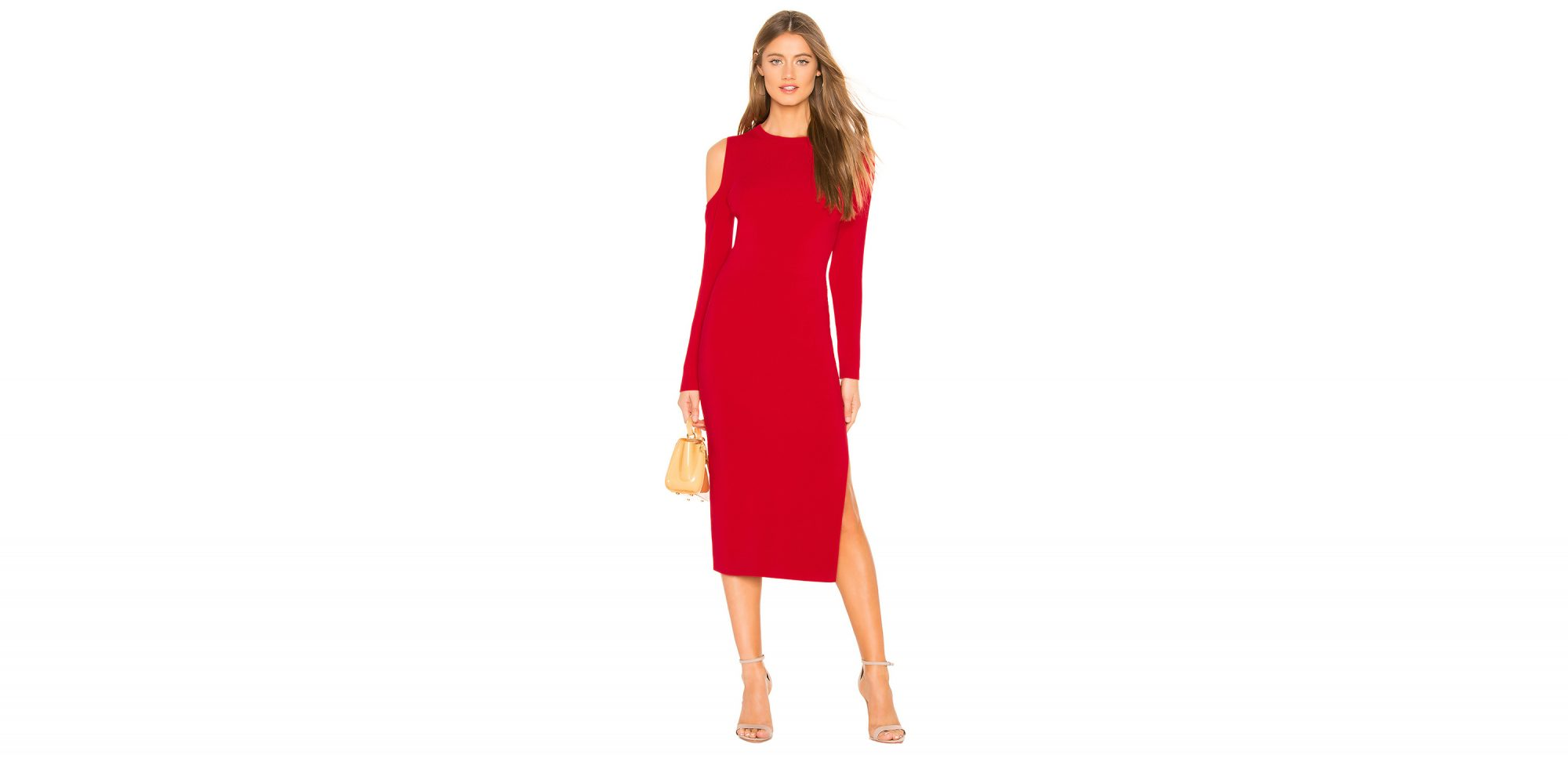 d950896c2c9 How to Copy Meghan Markle s Stunning Red Dress for Less