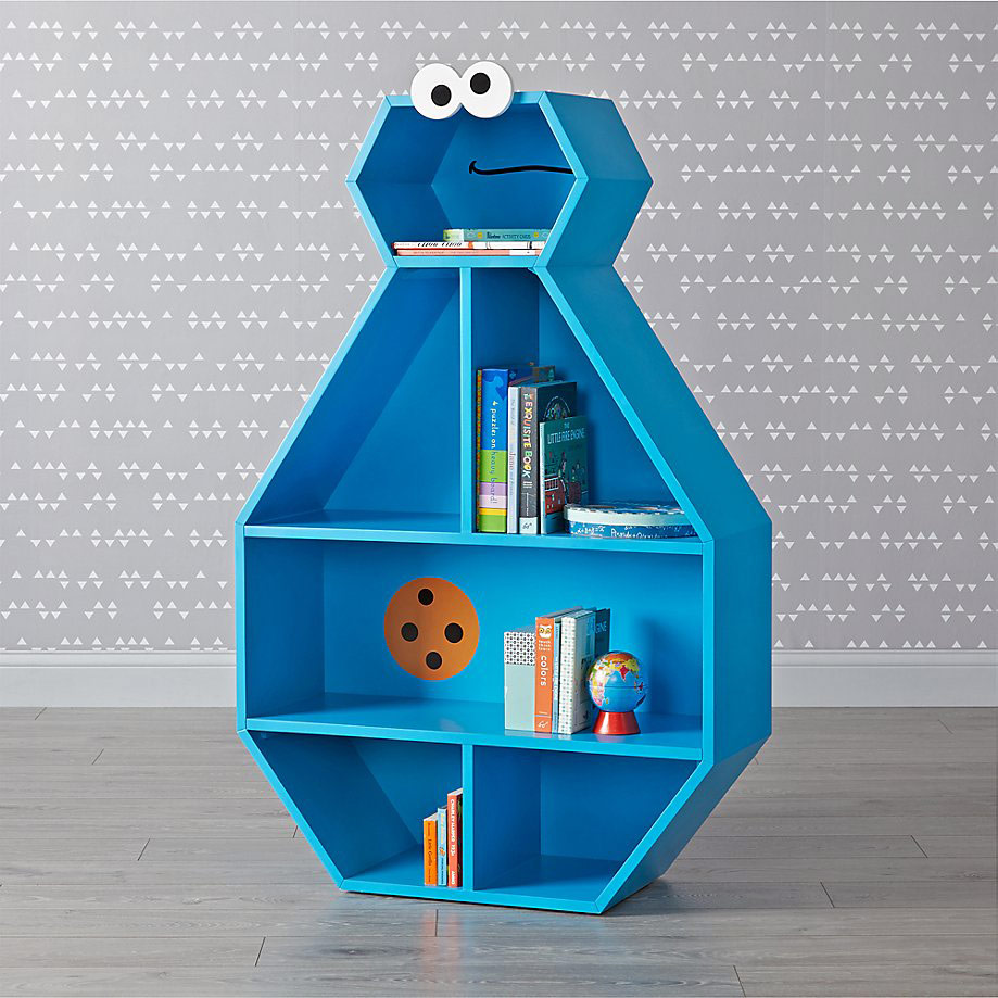 Sesame Street Cookie Monster Bookcase