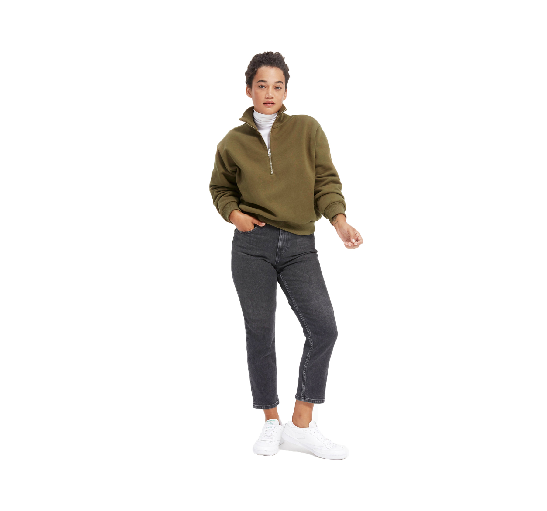 Cozy Must-haves for fall and winter Everlane Oversized Fleece Half-Zip