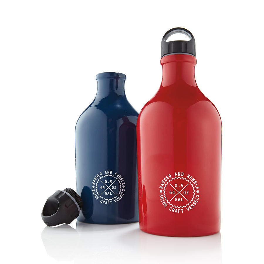 Shine Craft Vessel Company Beer Growler