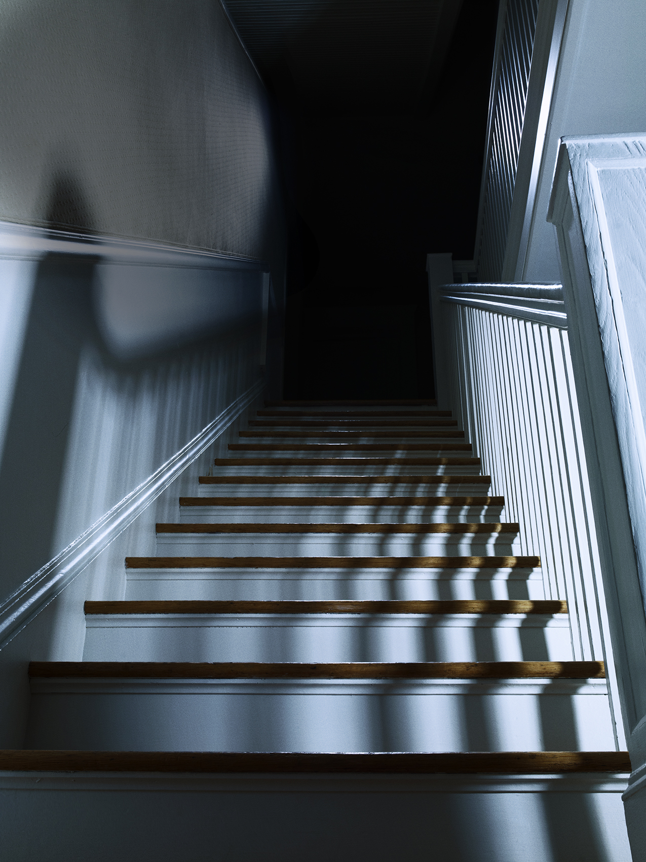 Shadowy stairs