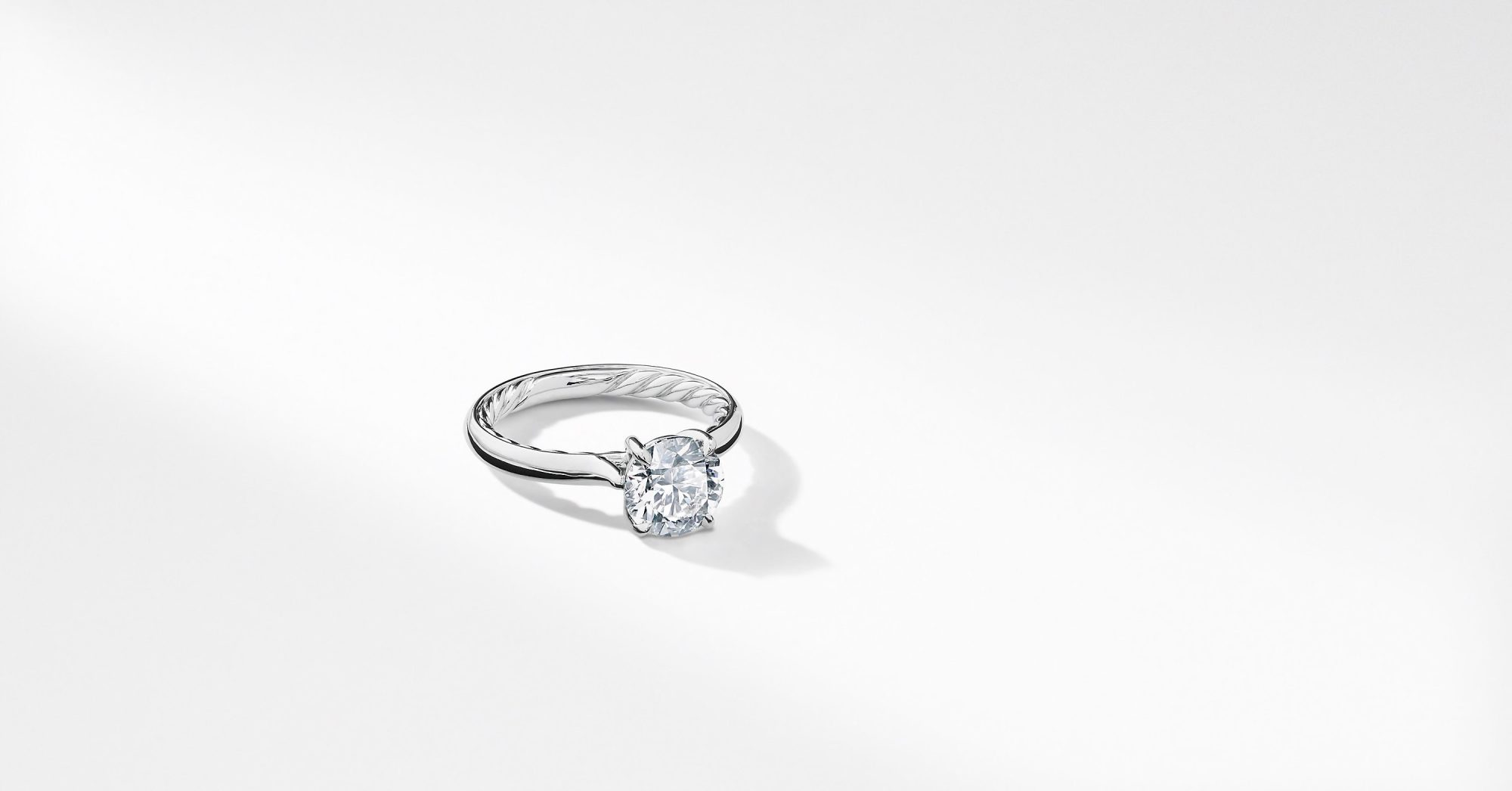 Timeless Diamond Engagement Rings David Yurman Solitaire