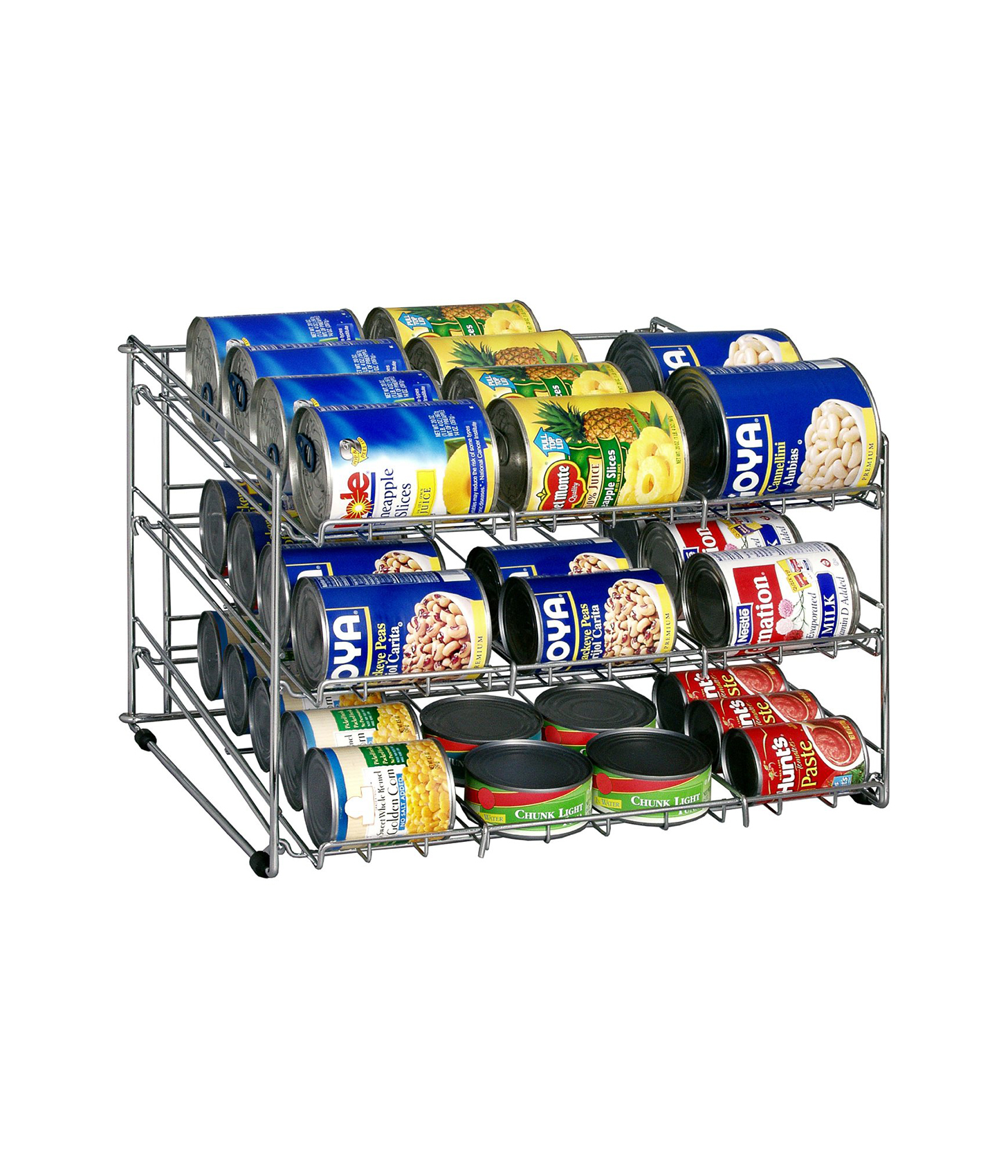 Deluxe Canned Food Storage Rack
