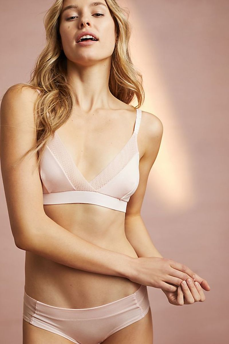 Dear Drew Everyday Bralette in blush