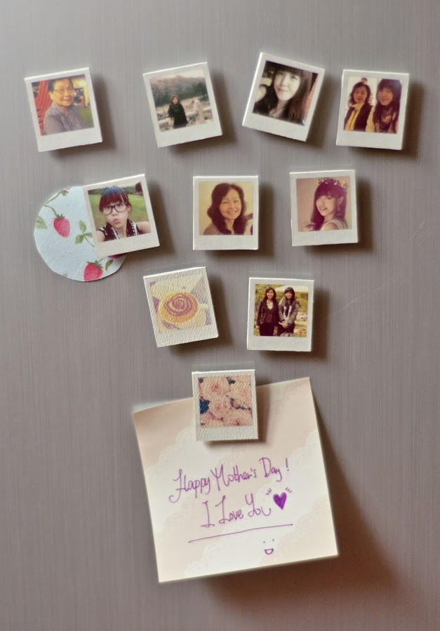 Diy locker decorations real simple diy photo magnets solutioingenieria Image collections