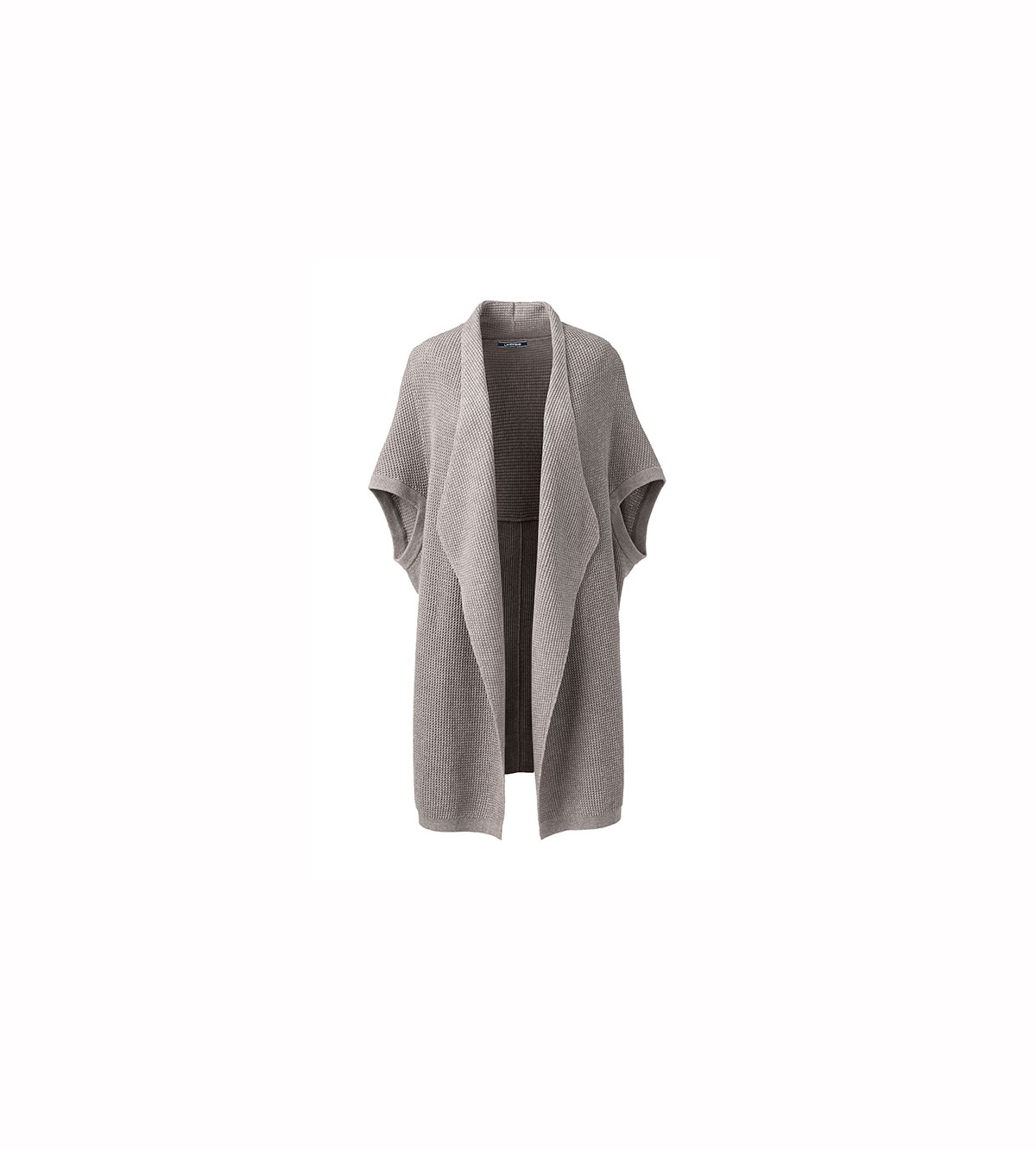 Lofty Elbow Sleeve Open Cardigan Sweater