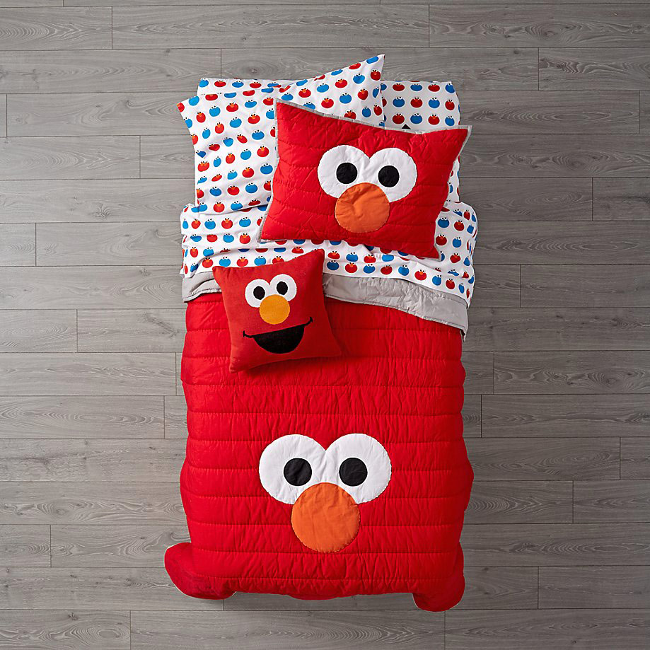 Sesame Street All Eyes Elmo Bedding