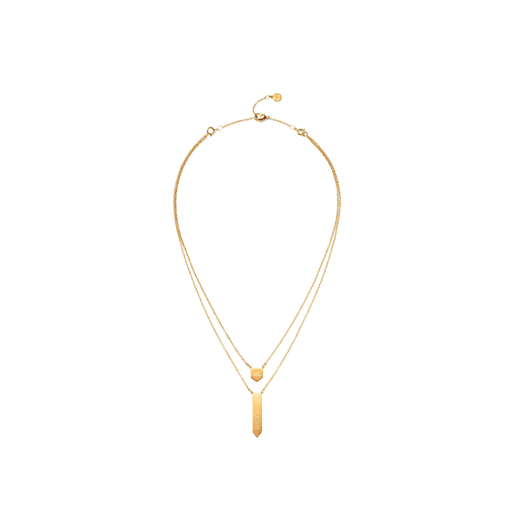 Signature Engravable Pre-Layered Necklace