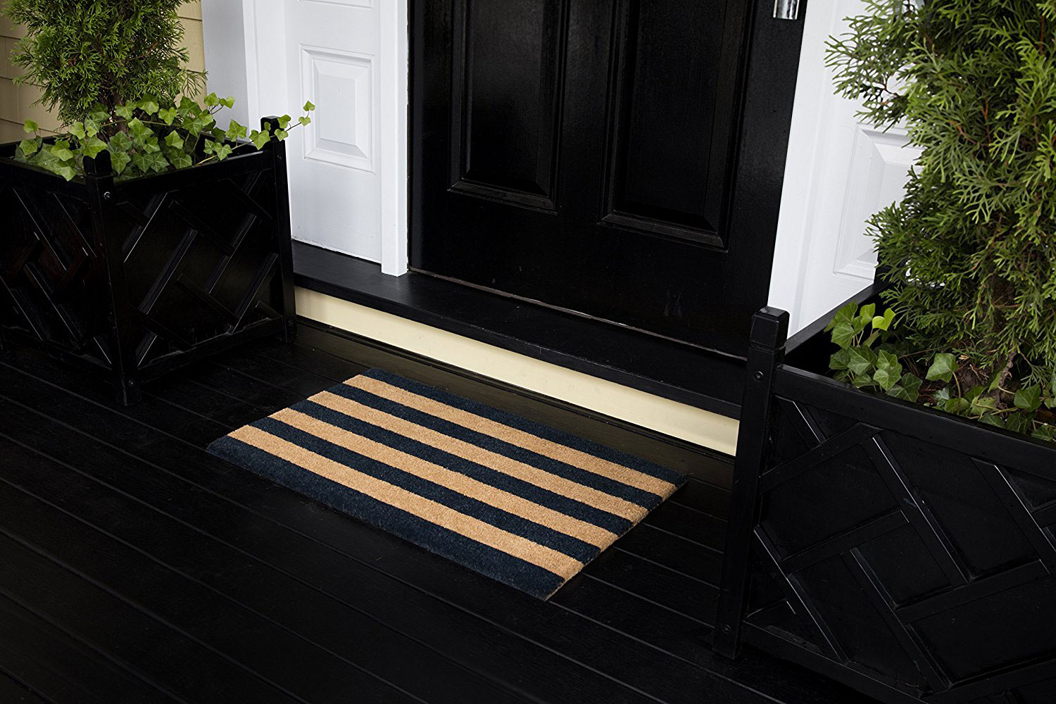 Erin Gates striped doormat