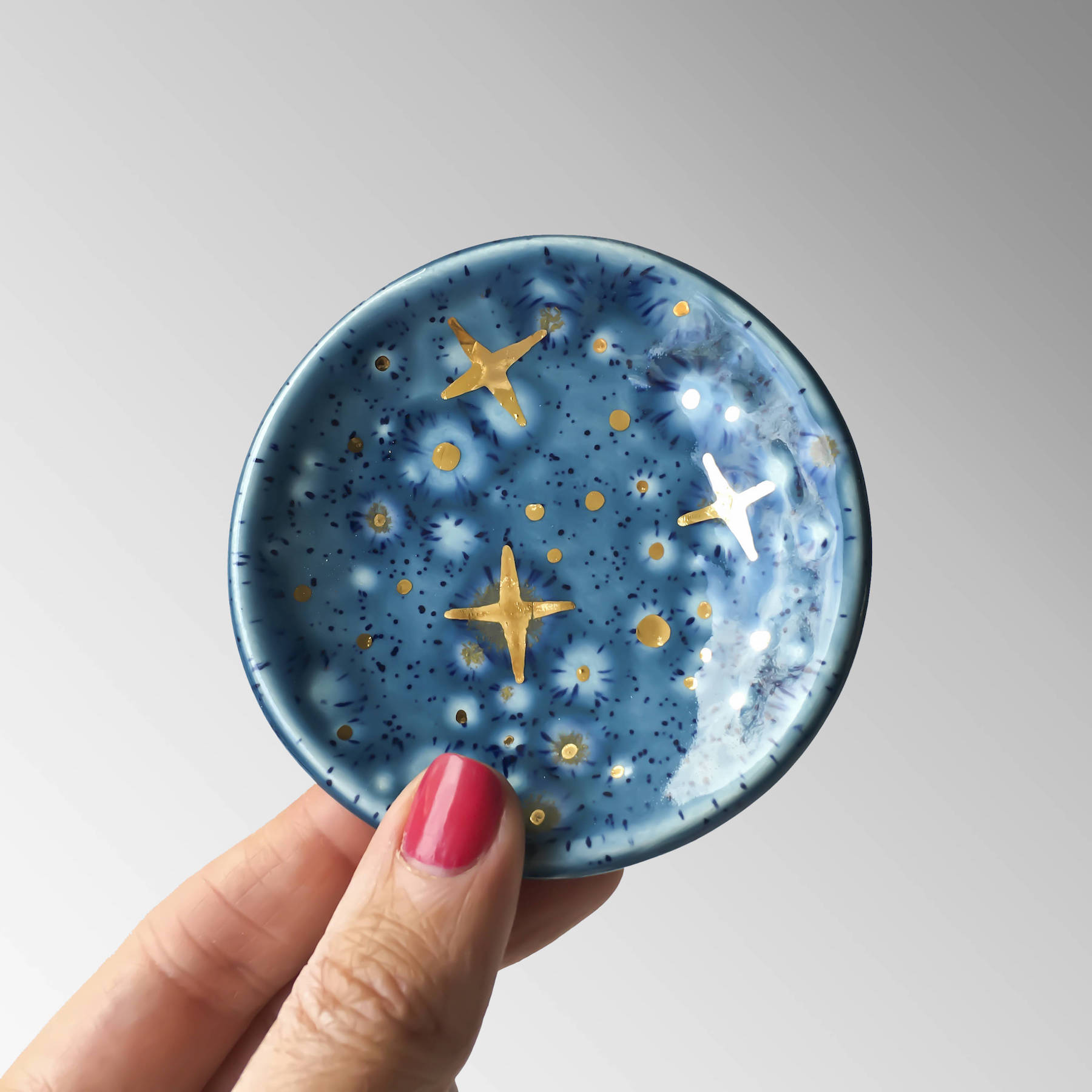 Etsy Birthday Sale Galaxy Ring Dish