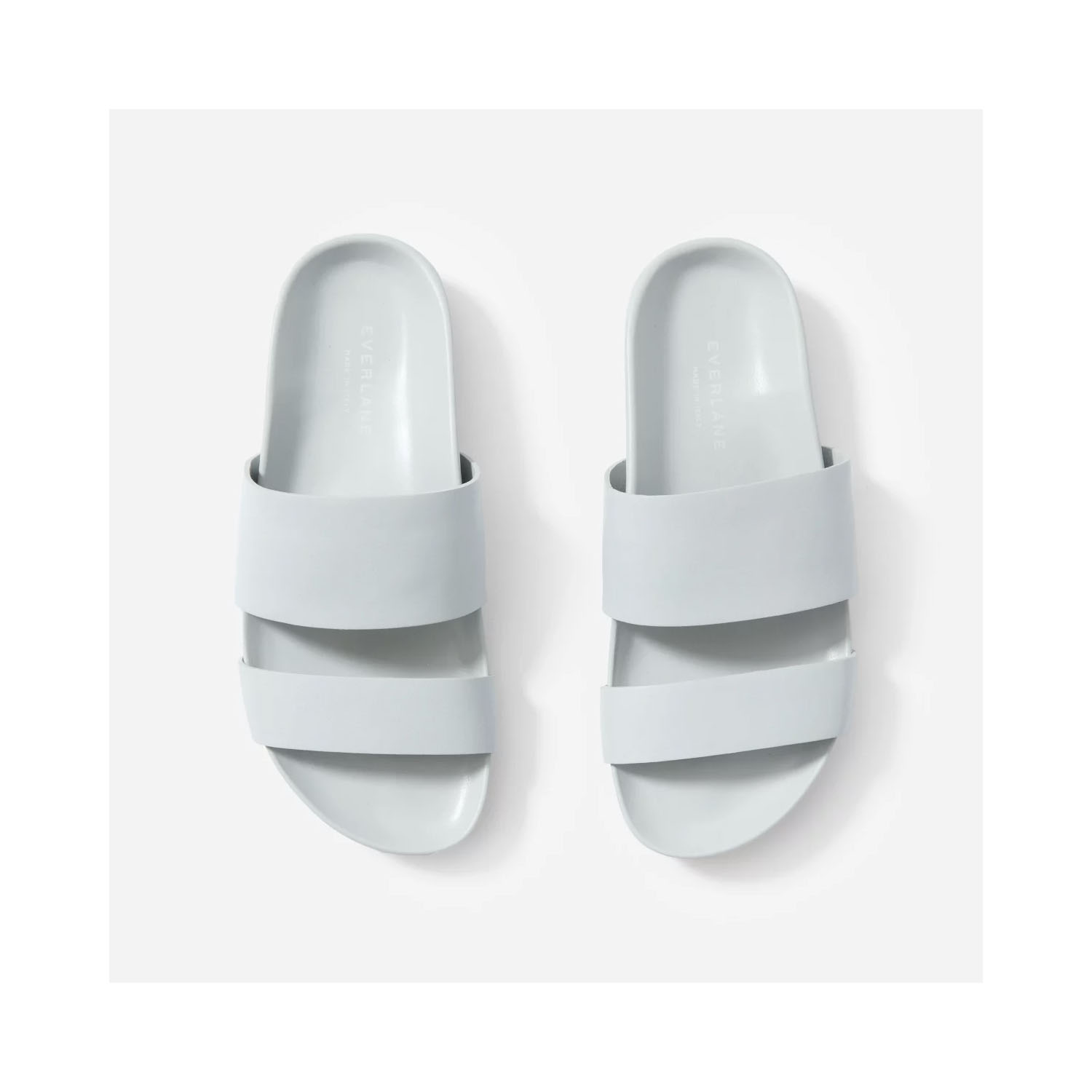 The Form Two-Strap Sandal in Light Blue