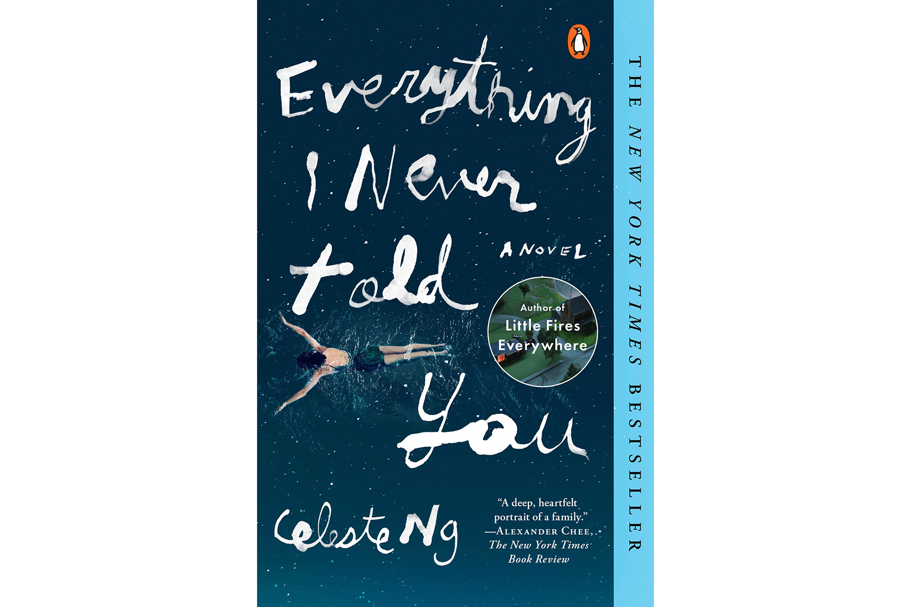 Everything I Never Told You, by Celeste Ng (Loss Books)
