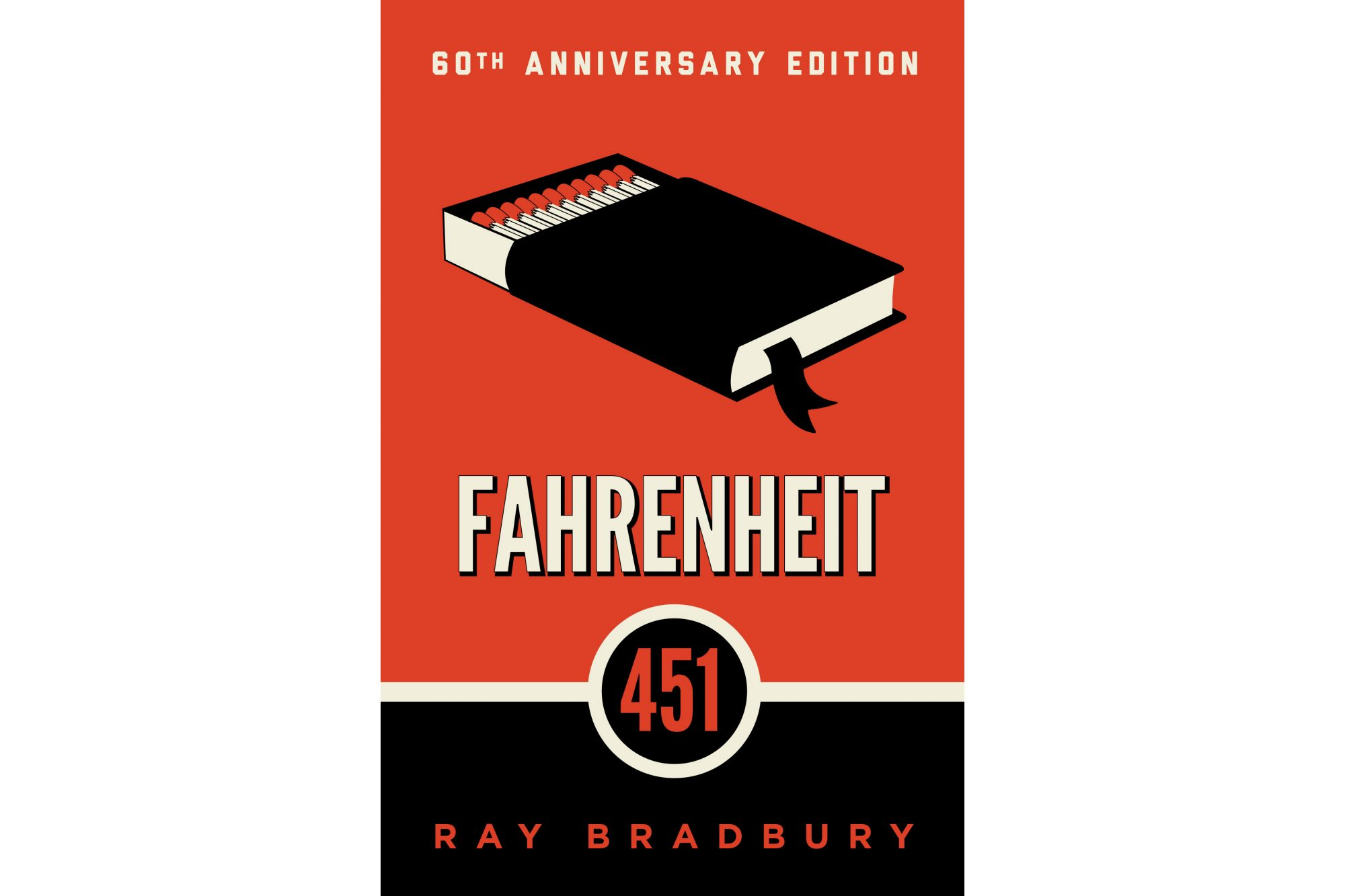 Fahrenheit 451, by Ray Bradbury (BRIDGE BOOKS)