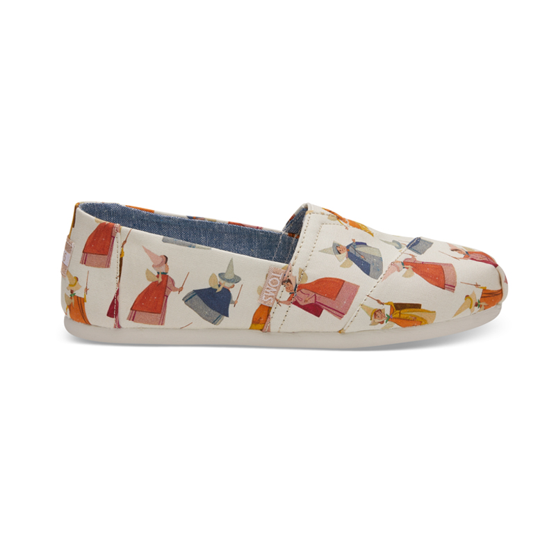 f1755497f4e The New Disney Sneaker Line by TOMS Is Made for The Inner Princess ...