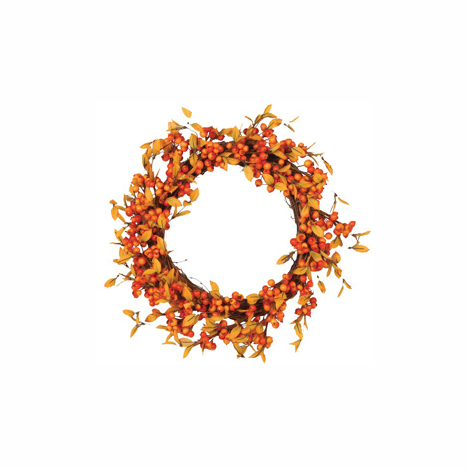 Fall Berry Decorative Wreath