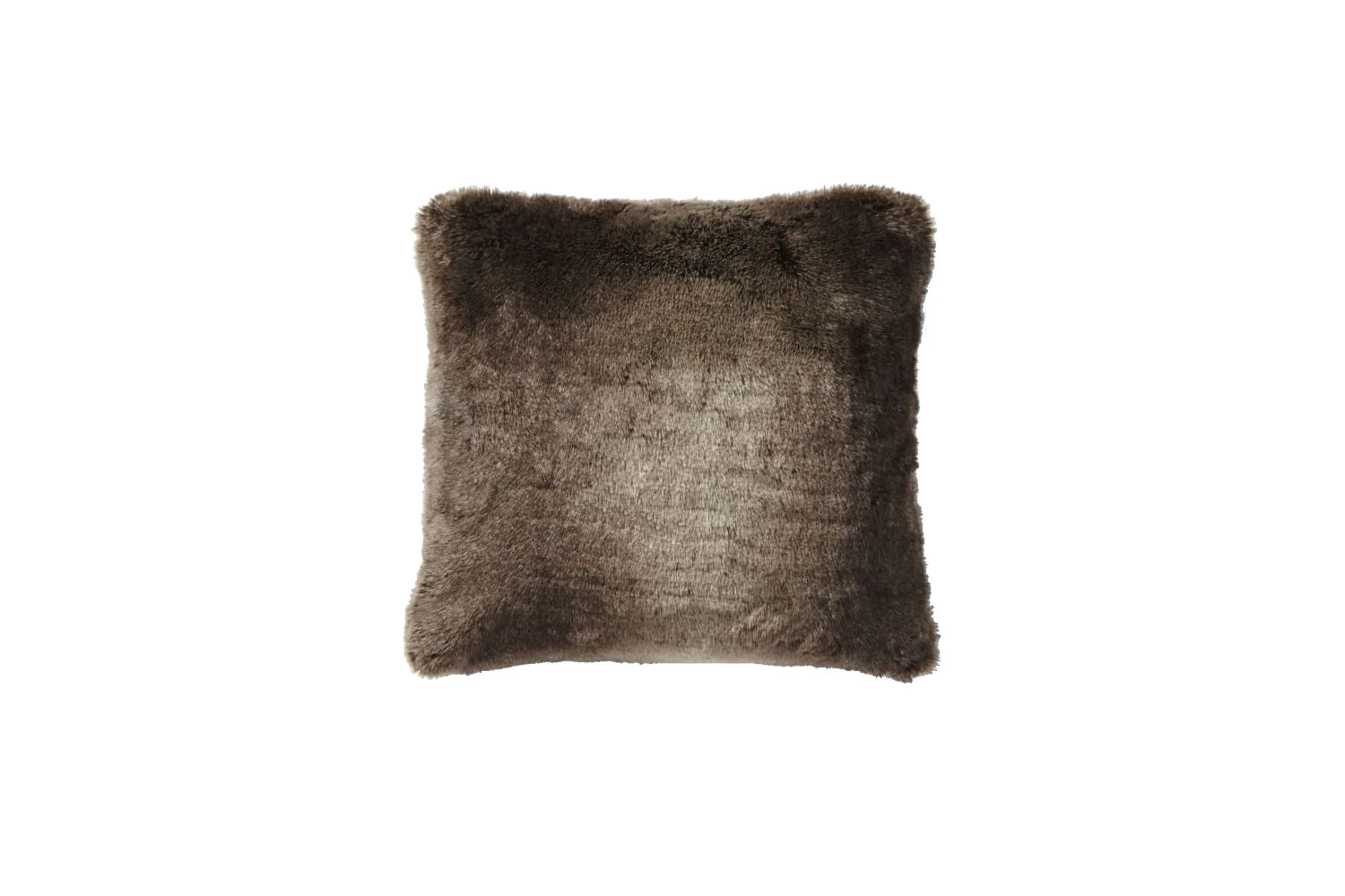 Faux Fur Ombre Pillow Cover