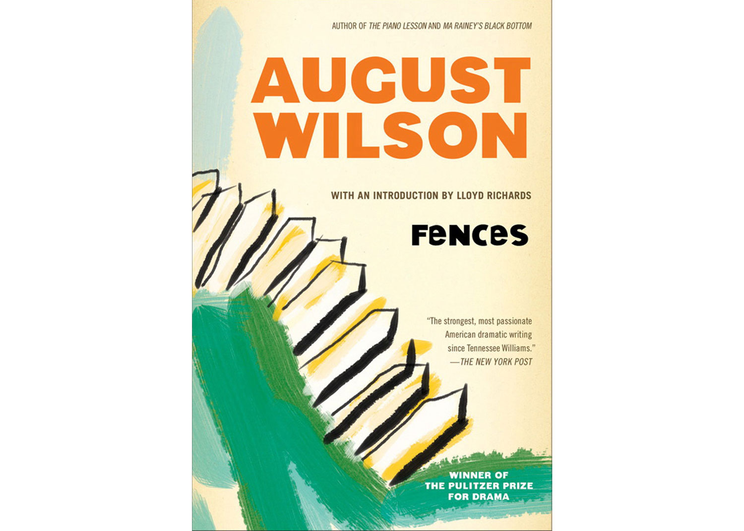 fences by wilson Fences [august wilson] on amazoncom free shipping on qualifying offers drama / 5m, 2f / 1 set winner of the new york drama critic's and tony awards as well as the pulitzer prize.