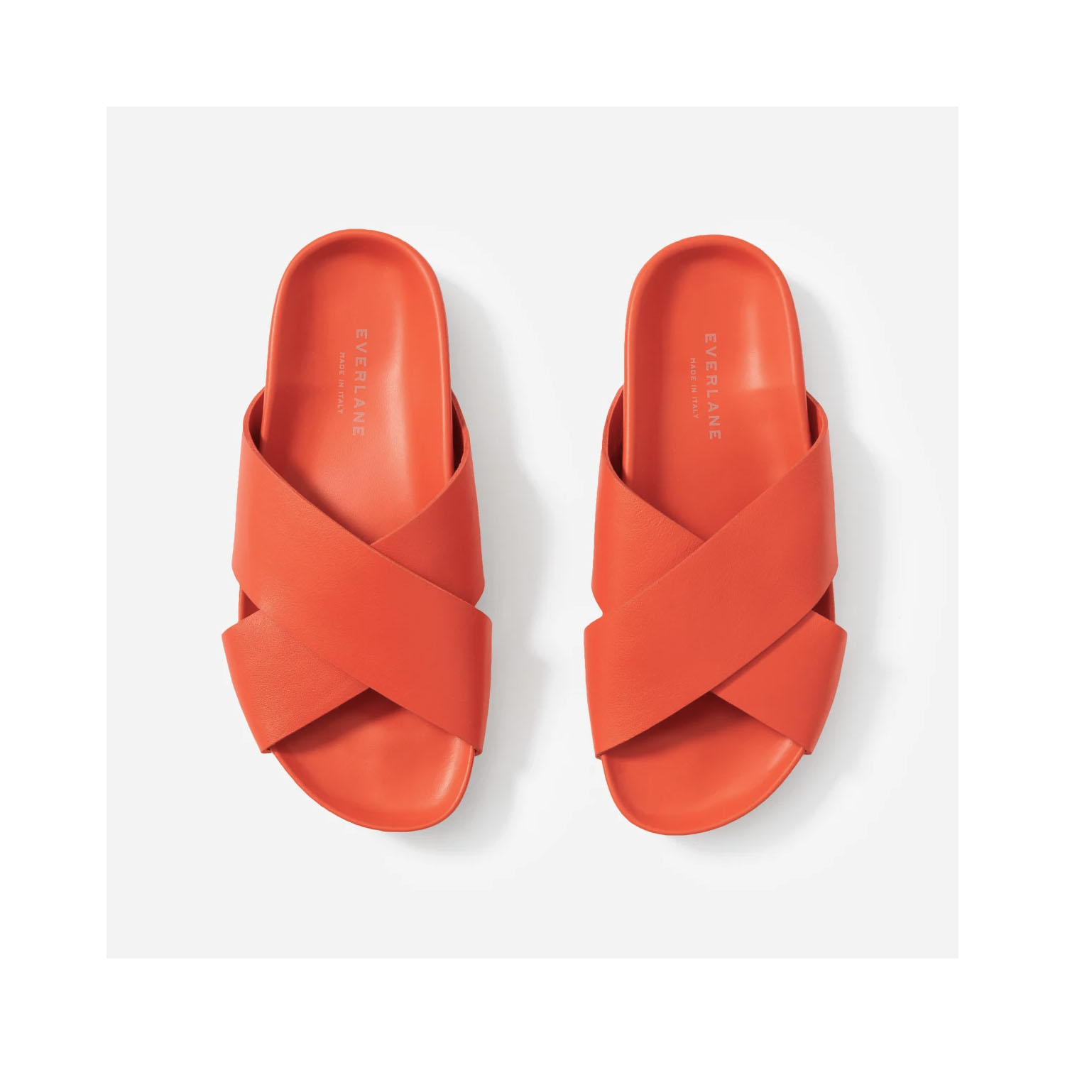 The Form Crossover Sandal in Paprika