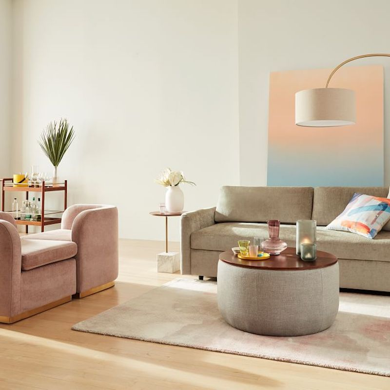 Furniture for Small Spaces, Ottoman