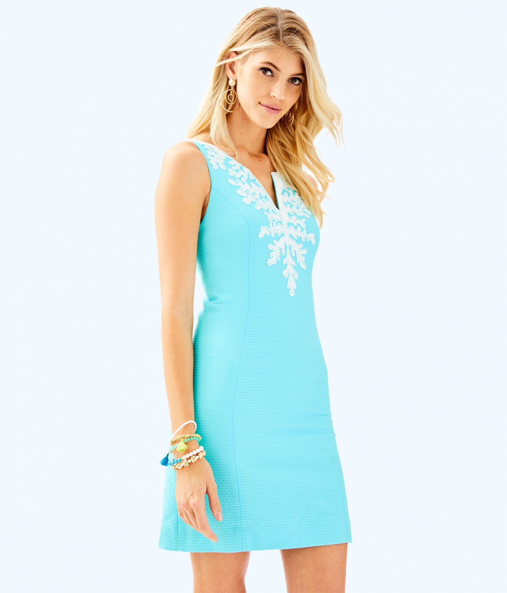lilly pulitzer after party sale turquoise mini dress