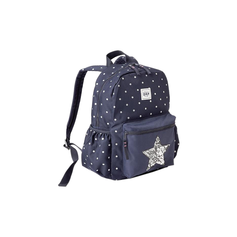 Gap Printed Junior Backpack Navy