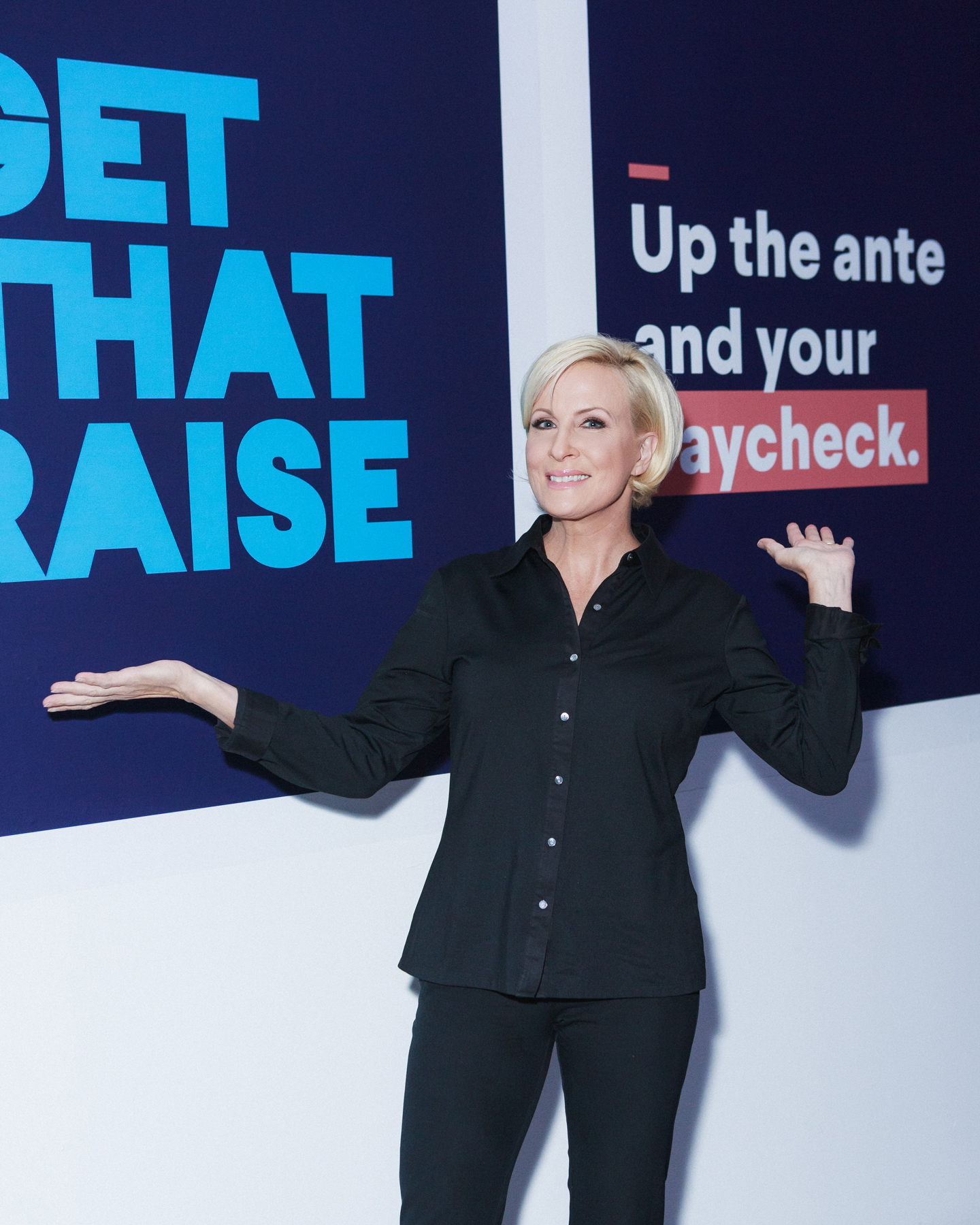 Mika Brzezinski at SoFi Get That Raise event