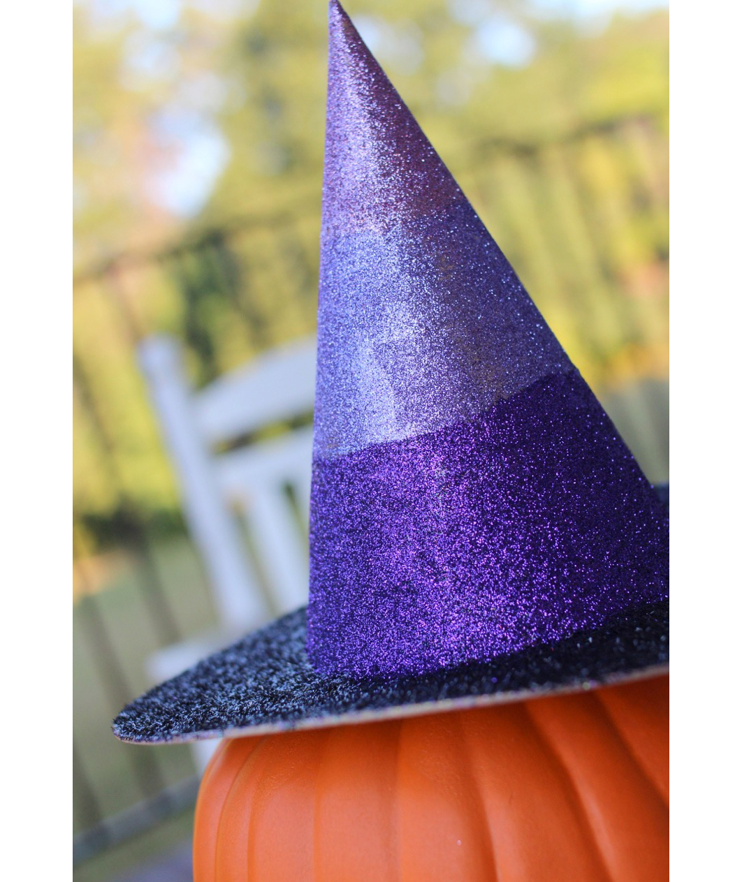 Glitter Witch Hats