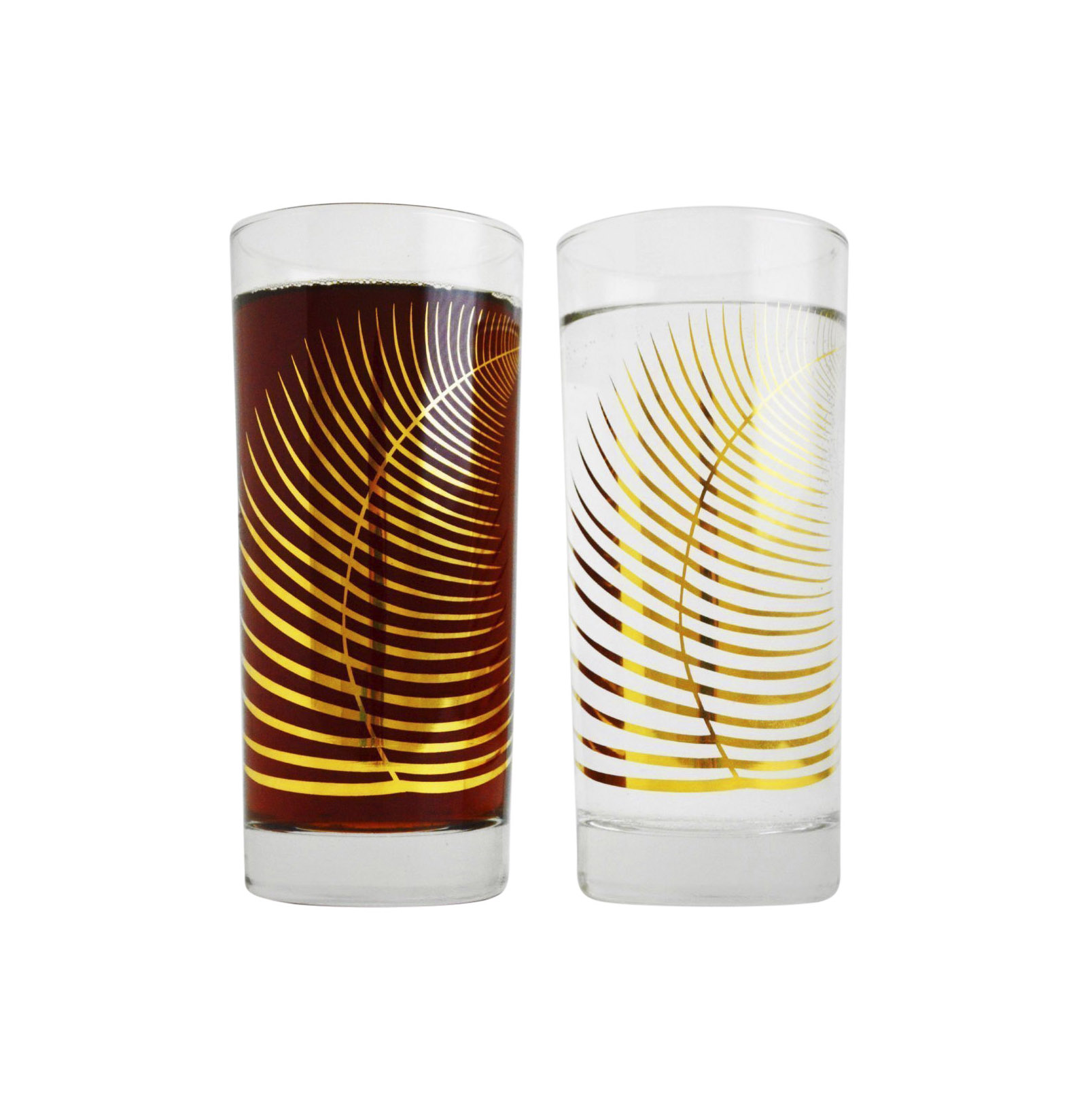 Mary Elizabeth Arts Gold Glassware
