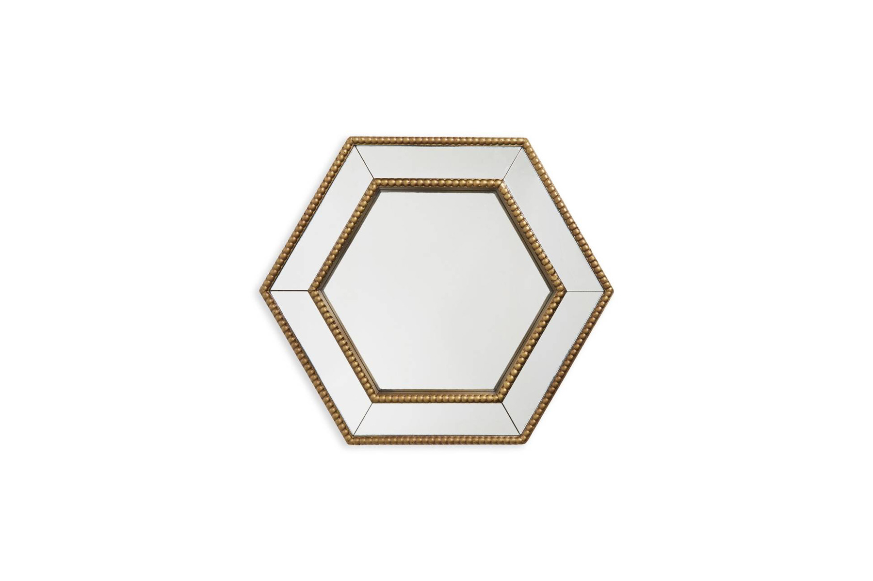 'Gold Hexagon' Mirror