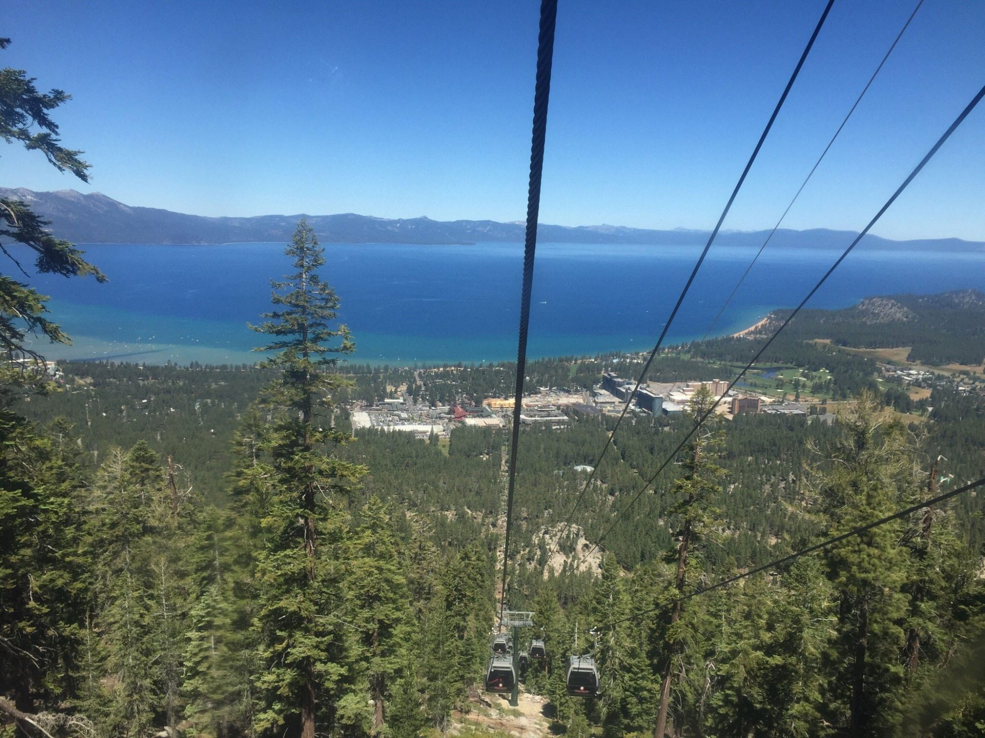 The Gondola at Heavenly in South Lake Tahoe, California