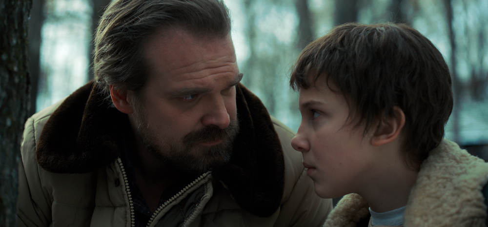 Father and Son in Stranger Things, a Good Show on Netflix for Father's Day