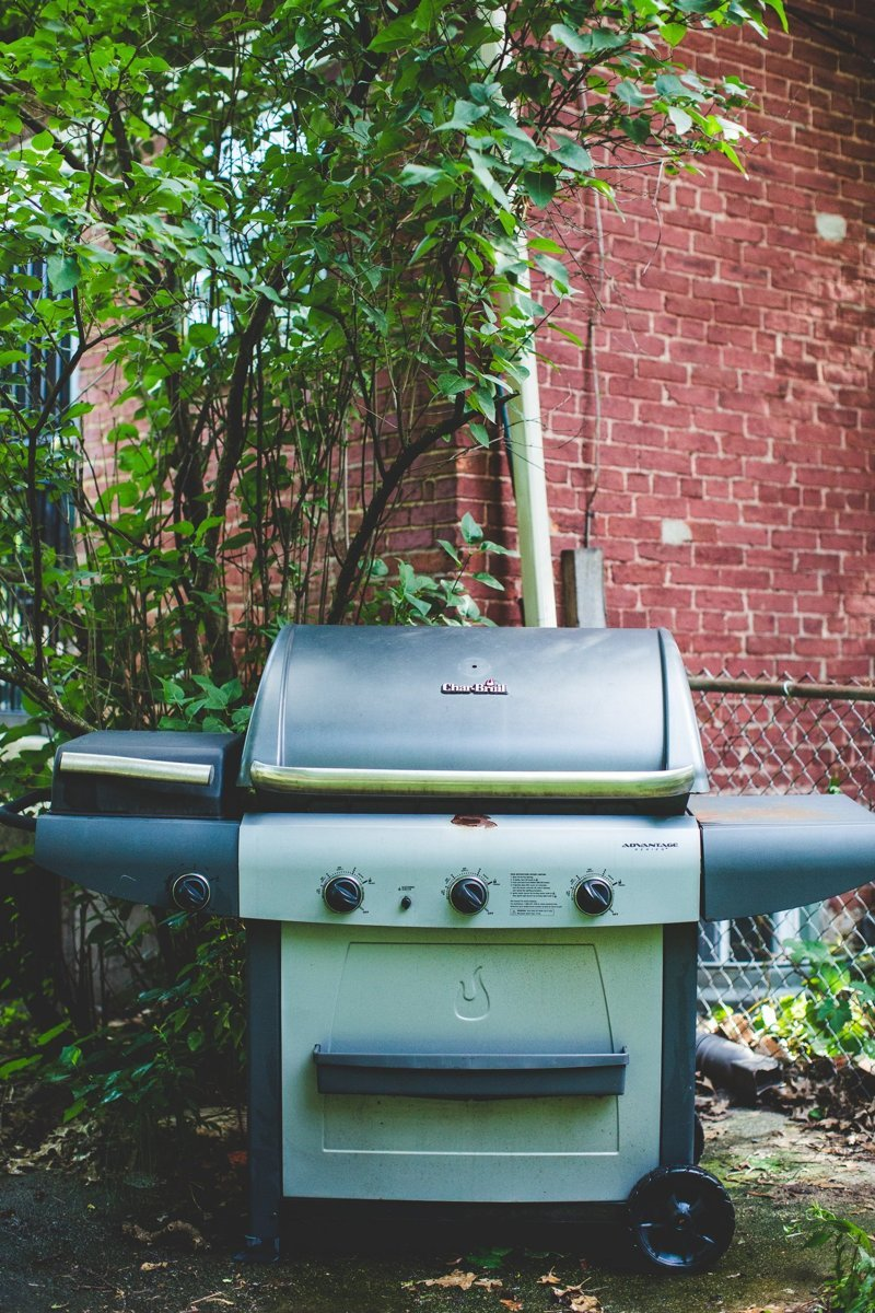 Clean the Outdoor Dining Area and Grill