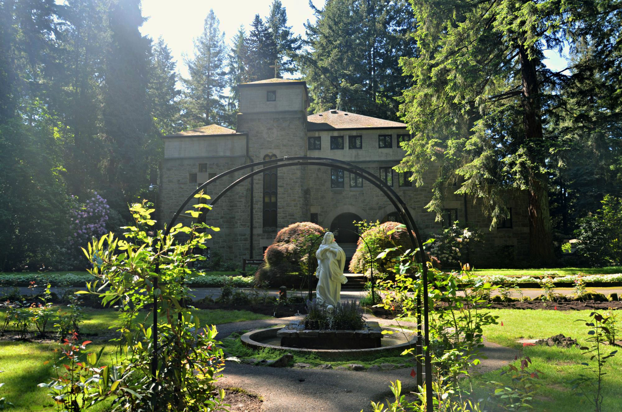 The Grotto—National Sanctuary of Our Sorrowful Mother in Portland, Oregon