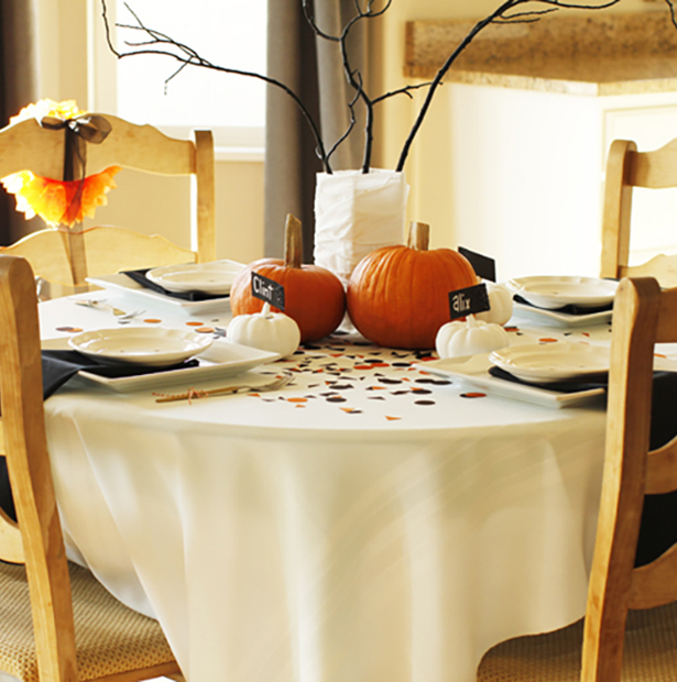 Halloween Party Table (Halloween Birthday Party)