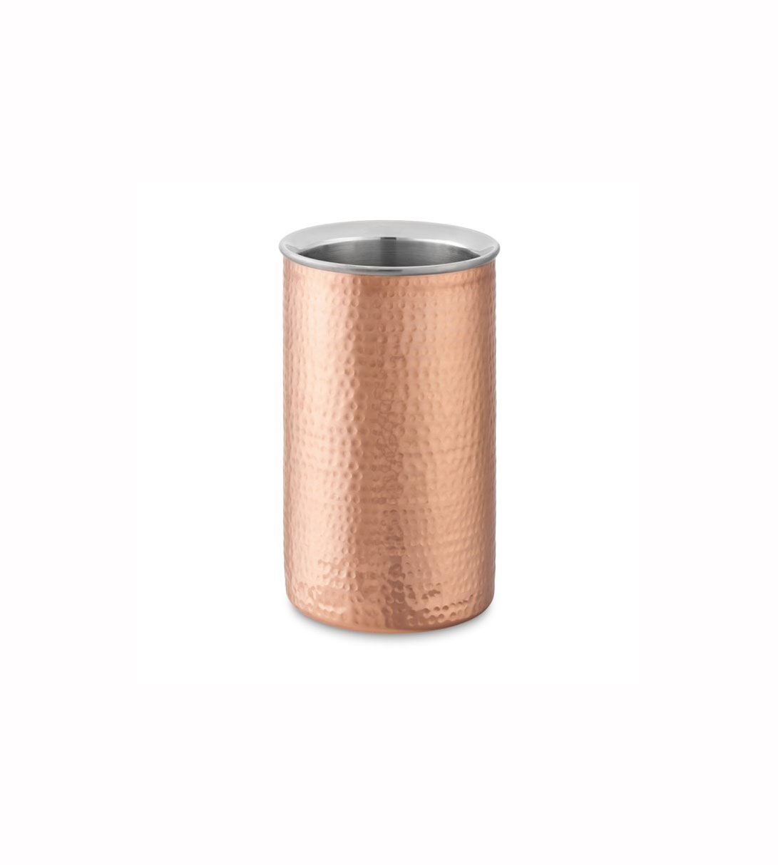 Hammered Copper Wine Chiller