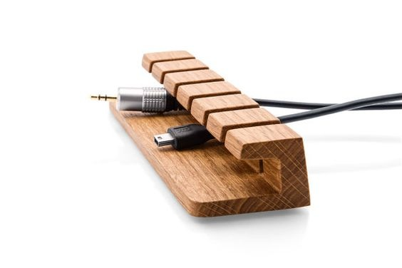 A Handcrafted Cord Holder