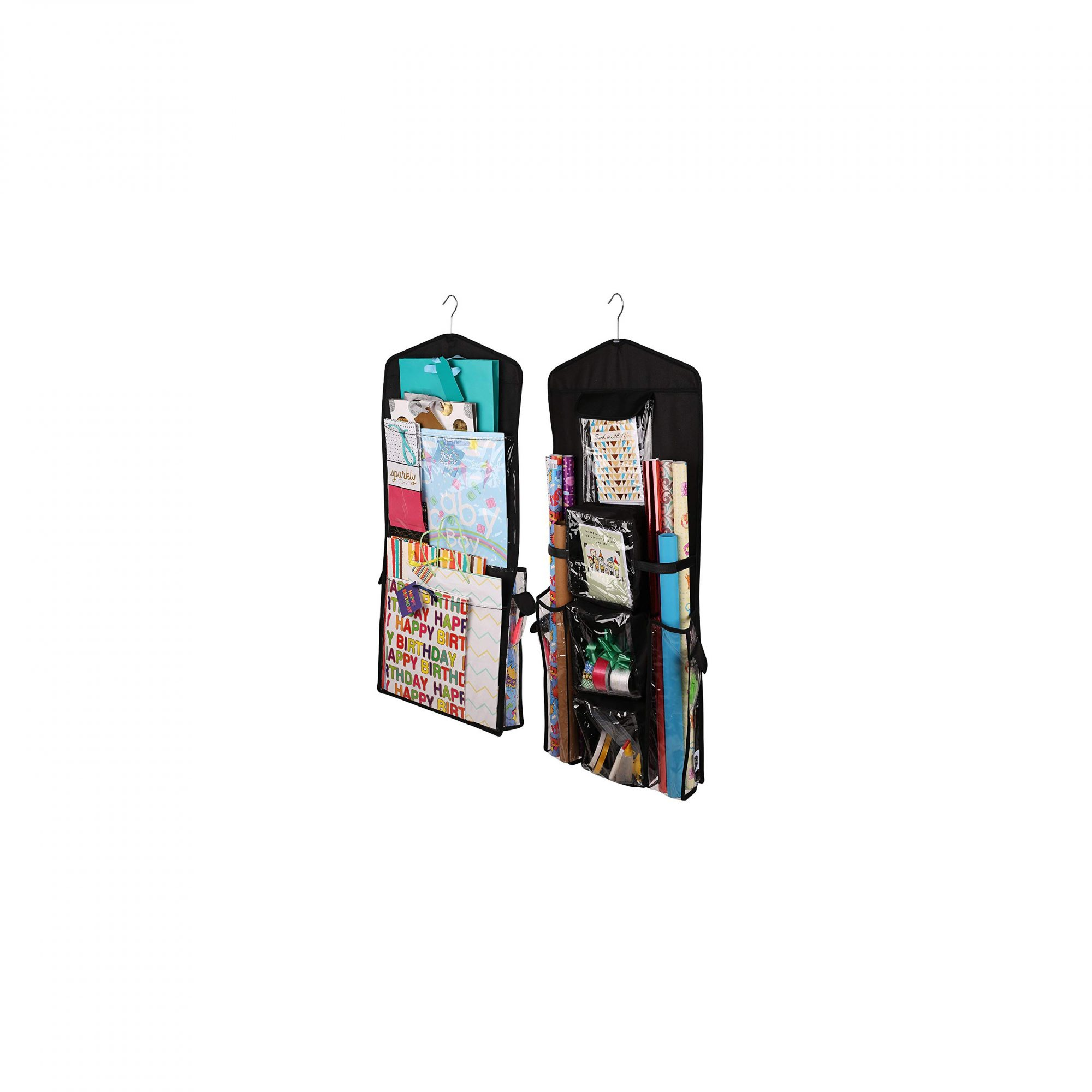 Regal Bazaar Double Sided Hanging Gift Bag And Wrap Organizer Amazon