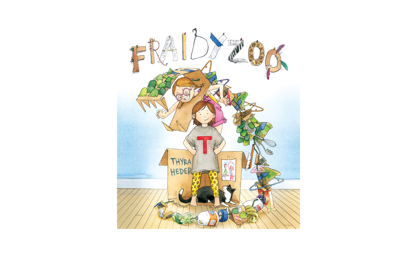Fraidy Zoo, by Thyra Heder