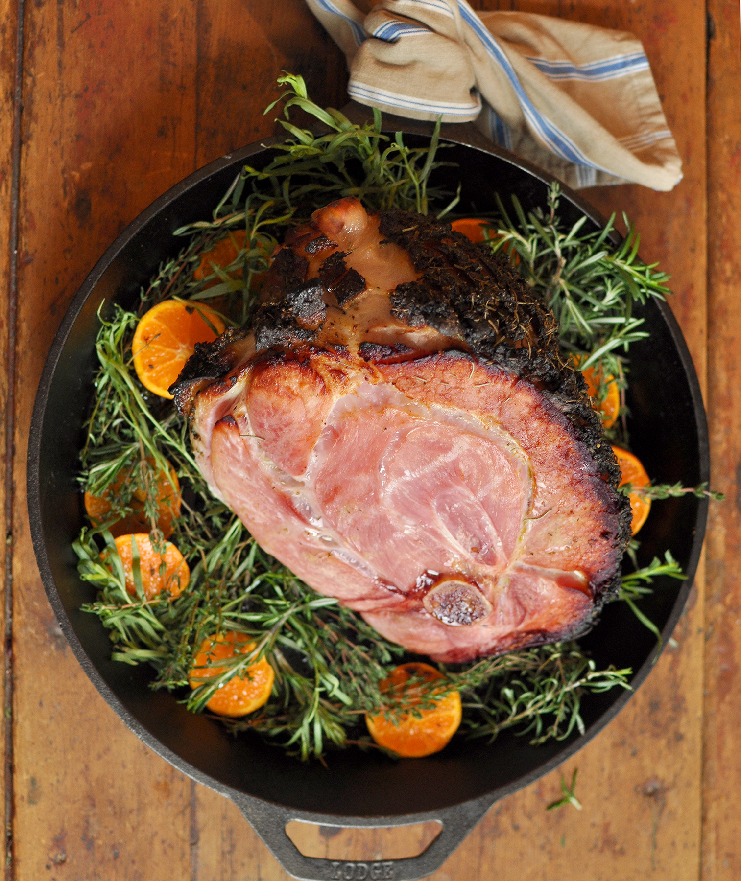 Herb and Citrus Rubbed Ham