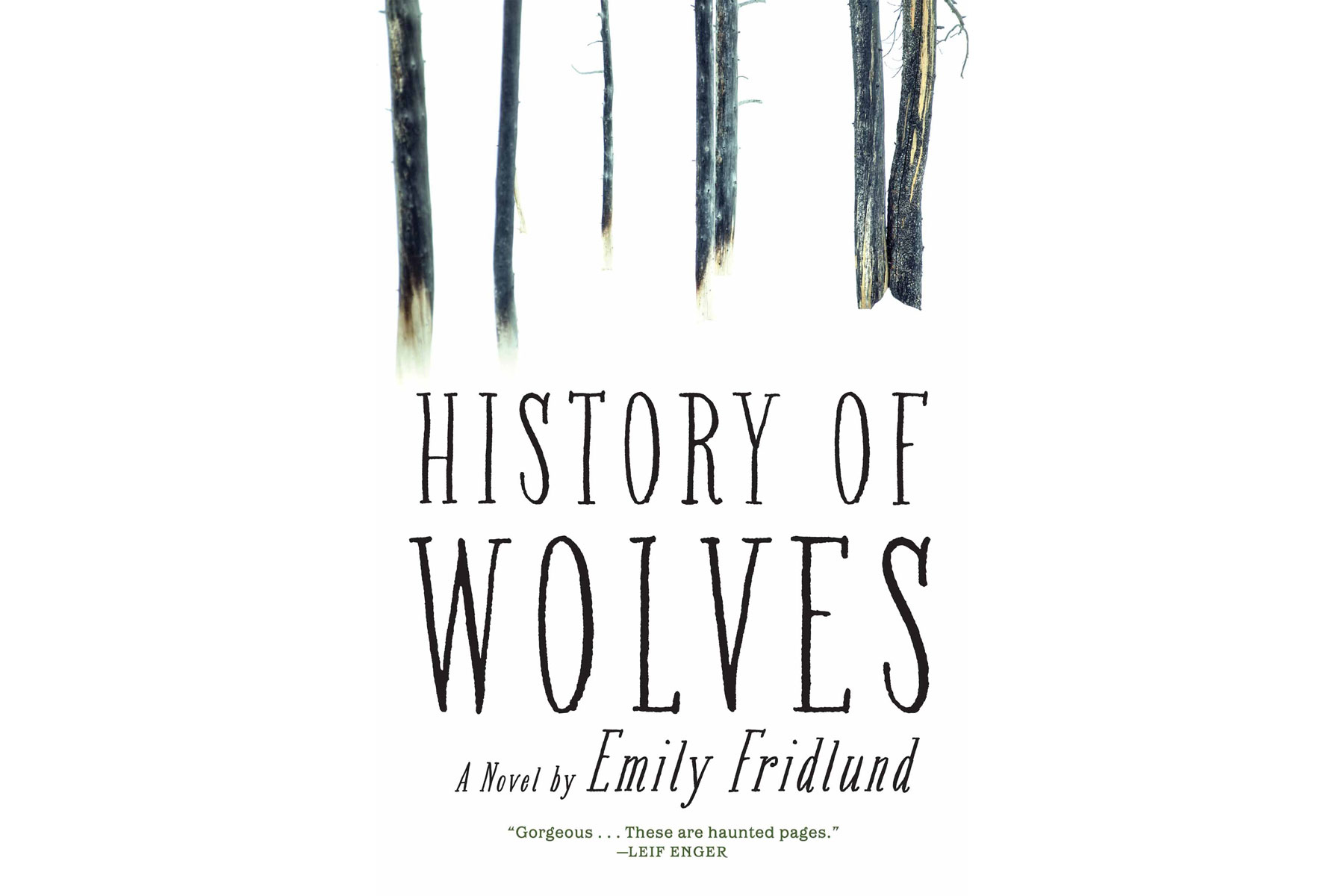 A History of Wolves, by Emily Fridlund