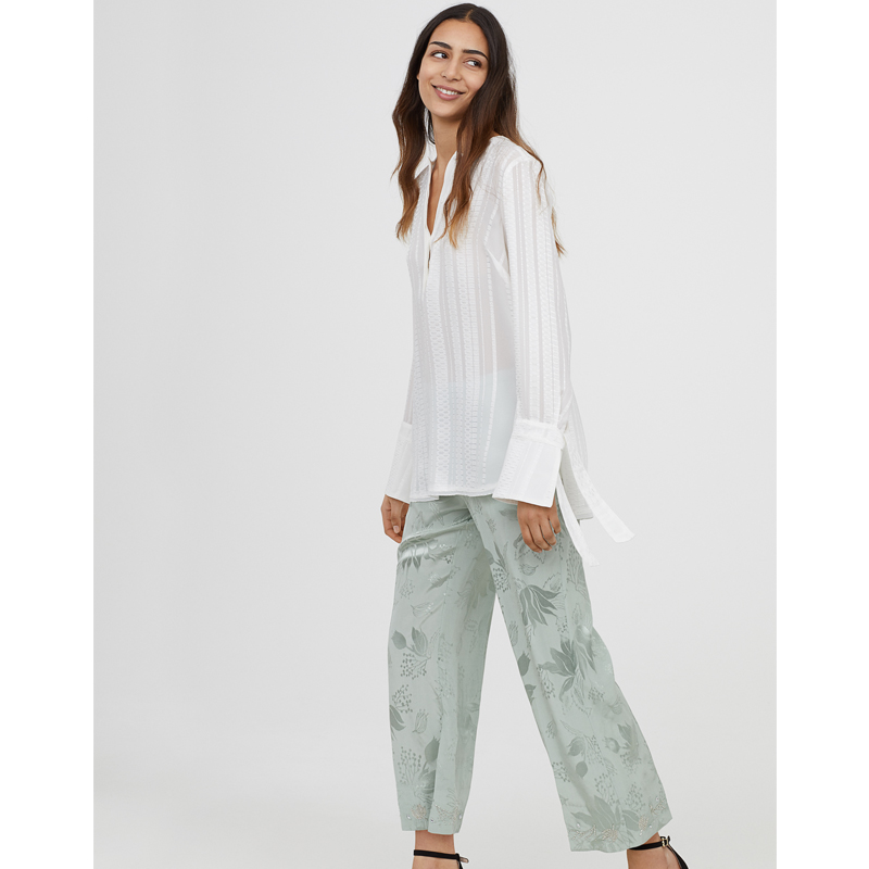 H&M Silk Pants