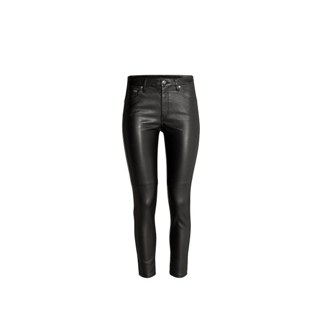 H&M Imitation Leather Pants