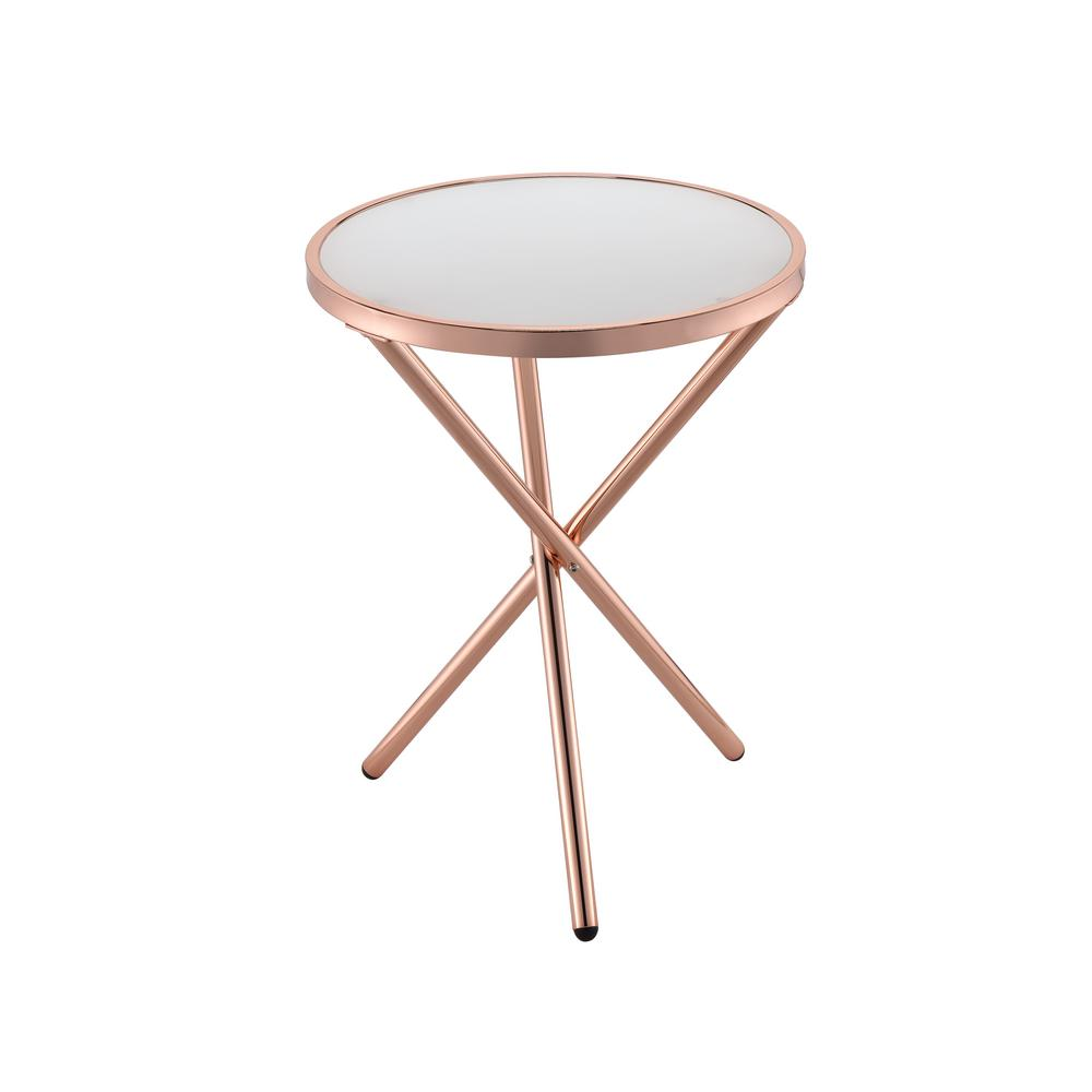 Champagne Side Table