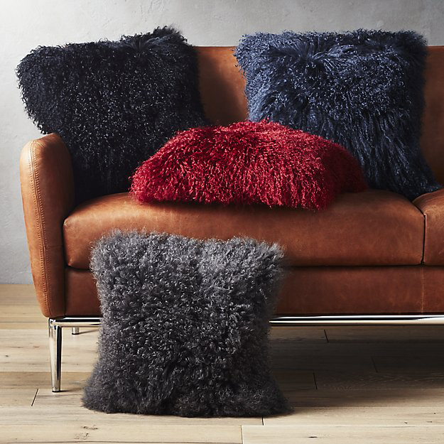 Home Office Furniture Must-Haves: Mongolian Sheepskin Pillow