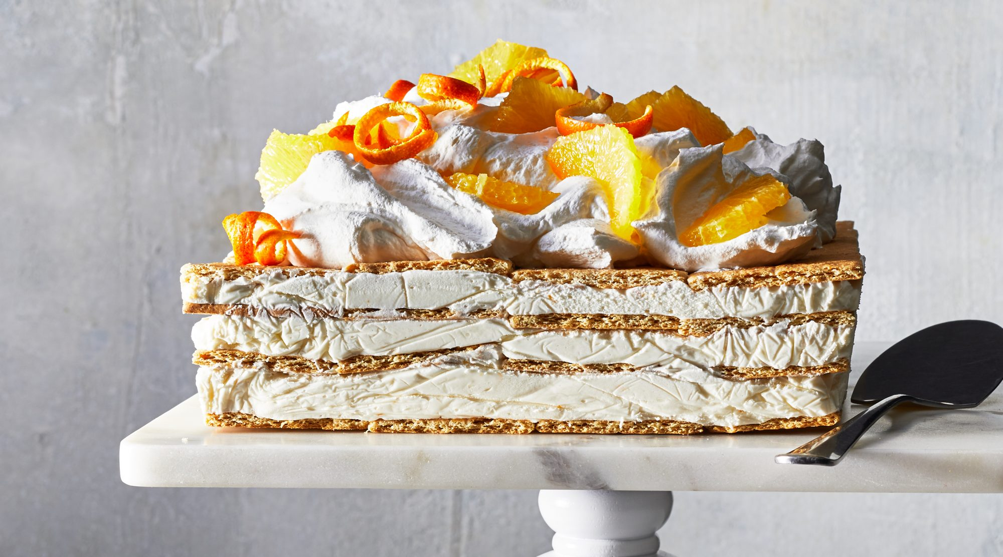 Orange Dreamsicle Icebox Cake