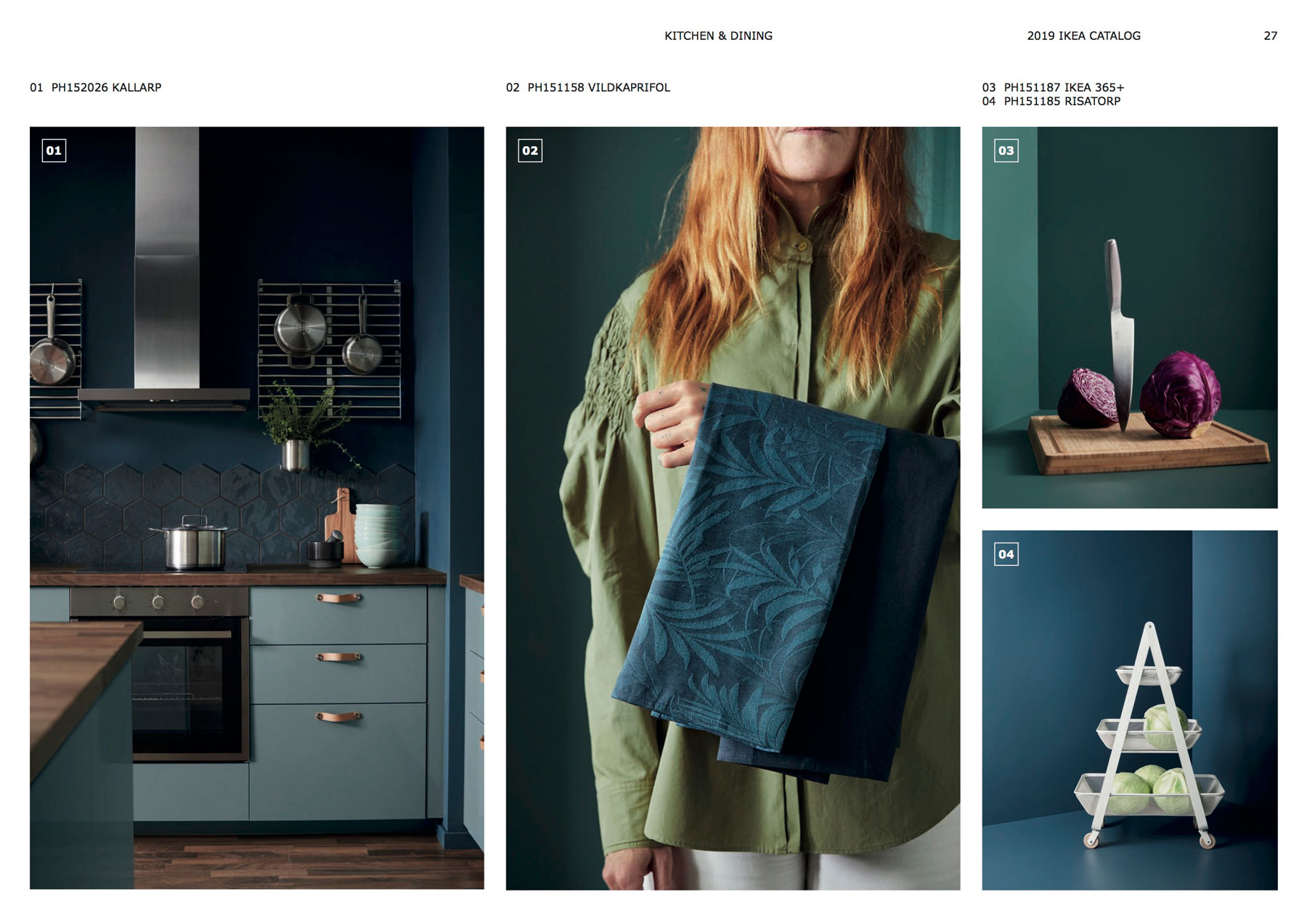 Ikea Catalog 2019 Design Trends bold kitchens
