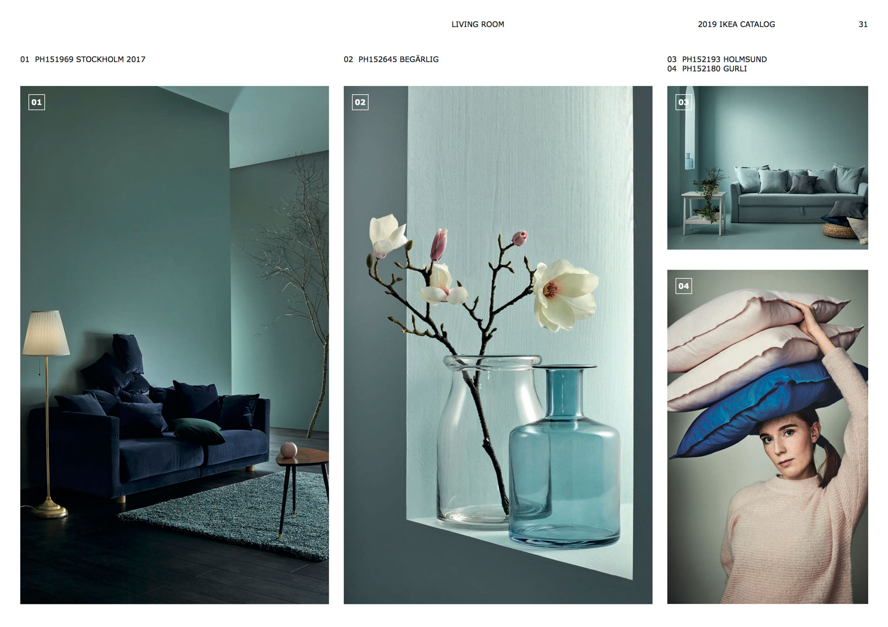 7 major design trends according to the ikea catalog 2019 real simple. Black Bedroom Furniture Sets. Home Design Ideas