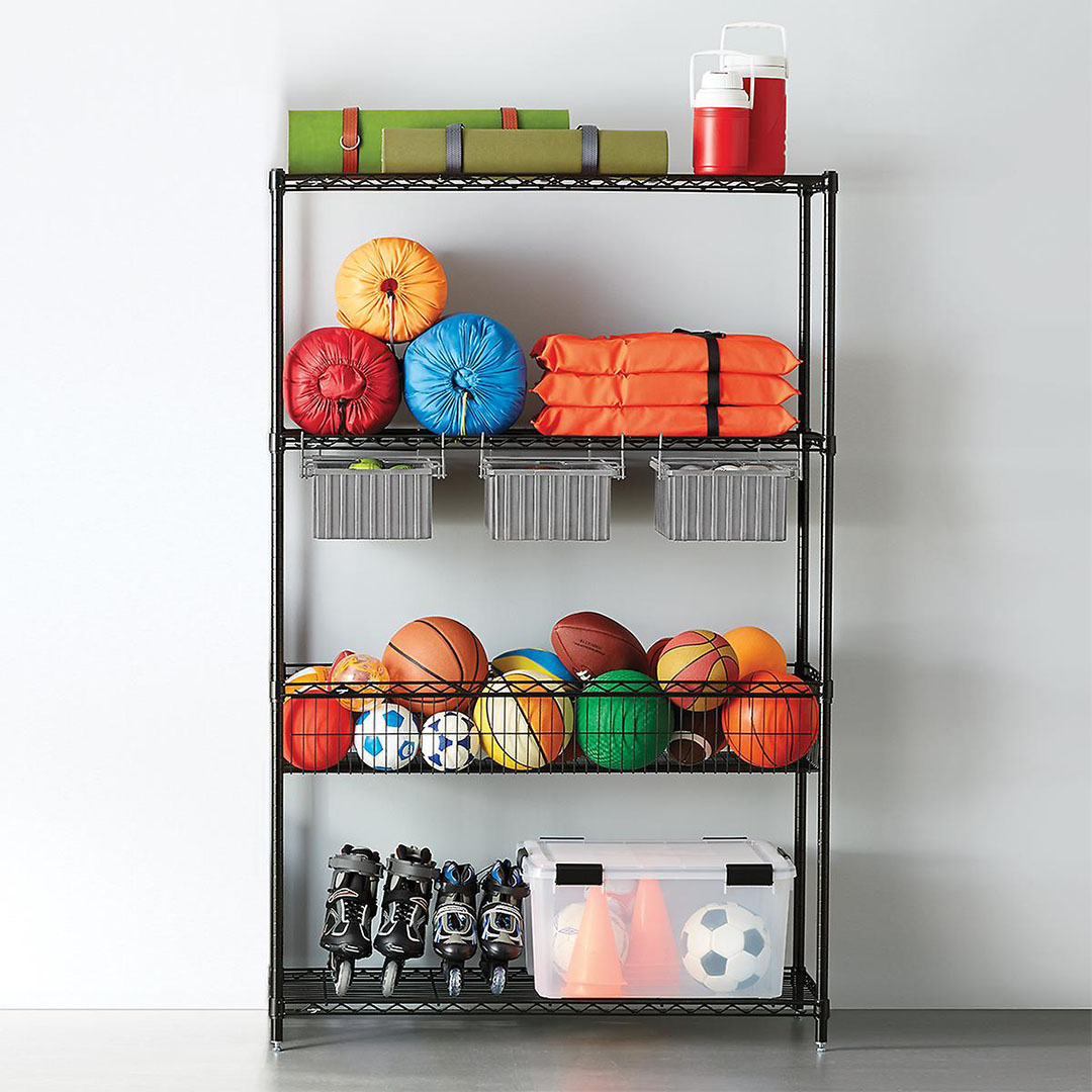 Organize Every Inch of Your Home From The Container Store's 25% Off Shelving Sale